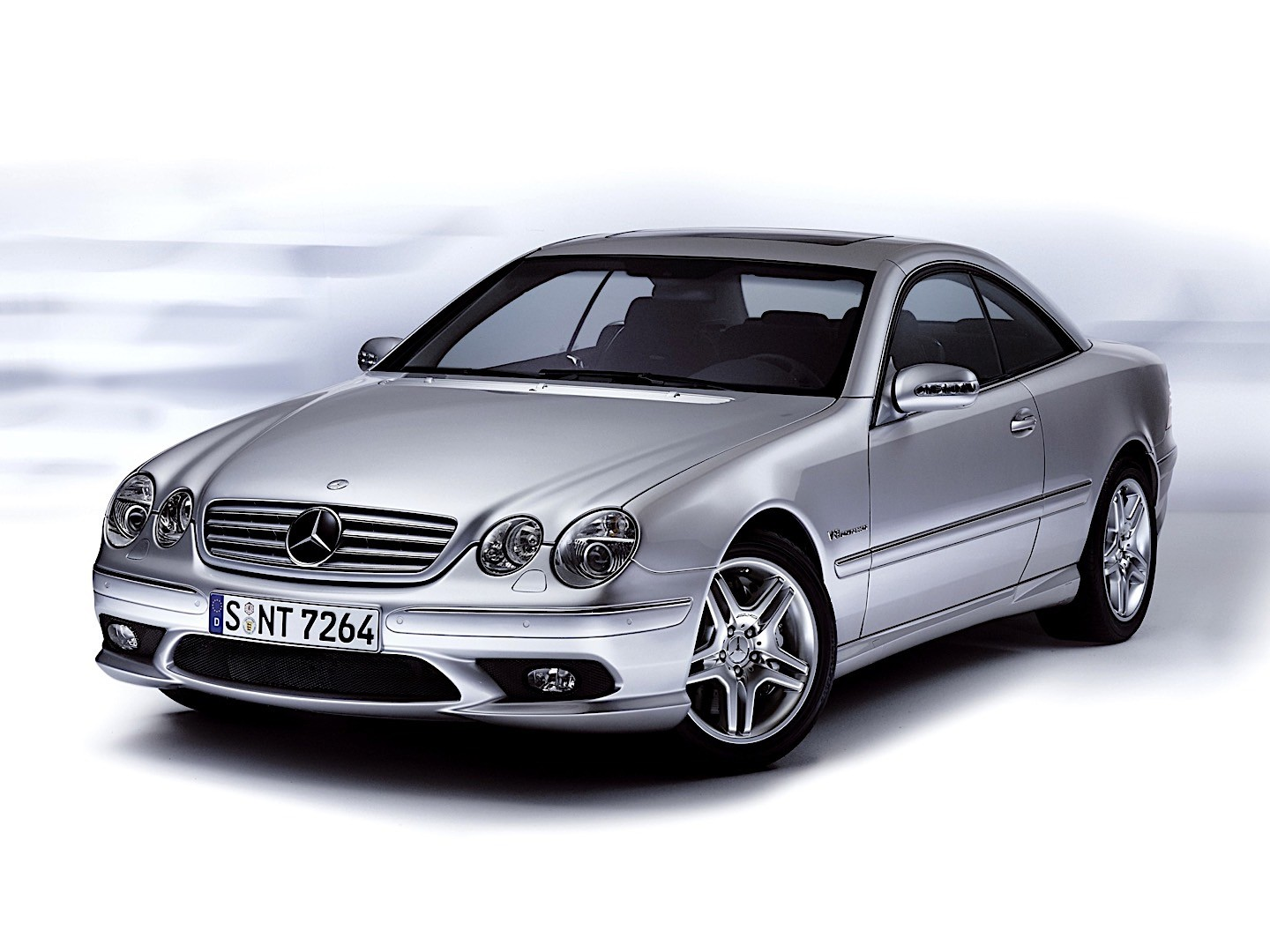 Mercedes Benz Cl 55 Amg C215 Specs Amp Photos 2002 2003