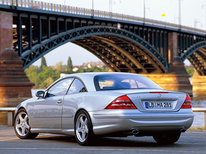 Mercedes Benz Cl 55 Amg C215 Specs 2000 2001 2002