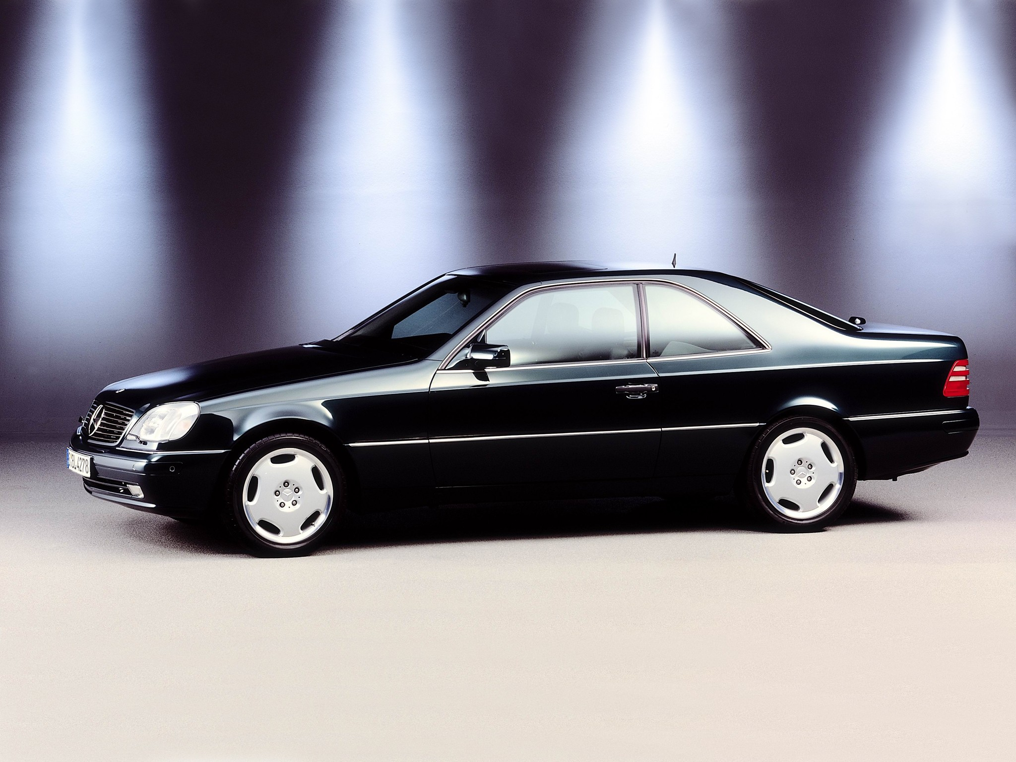 mercedes benz cl coupe (c140) specs & photos - 1996, 1997, 1998