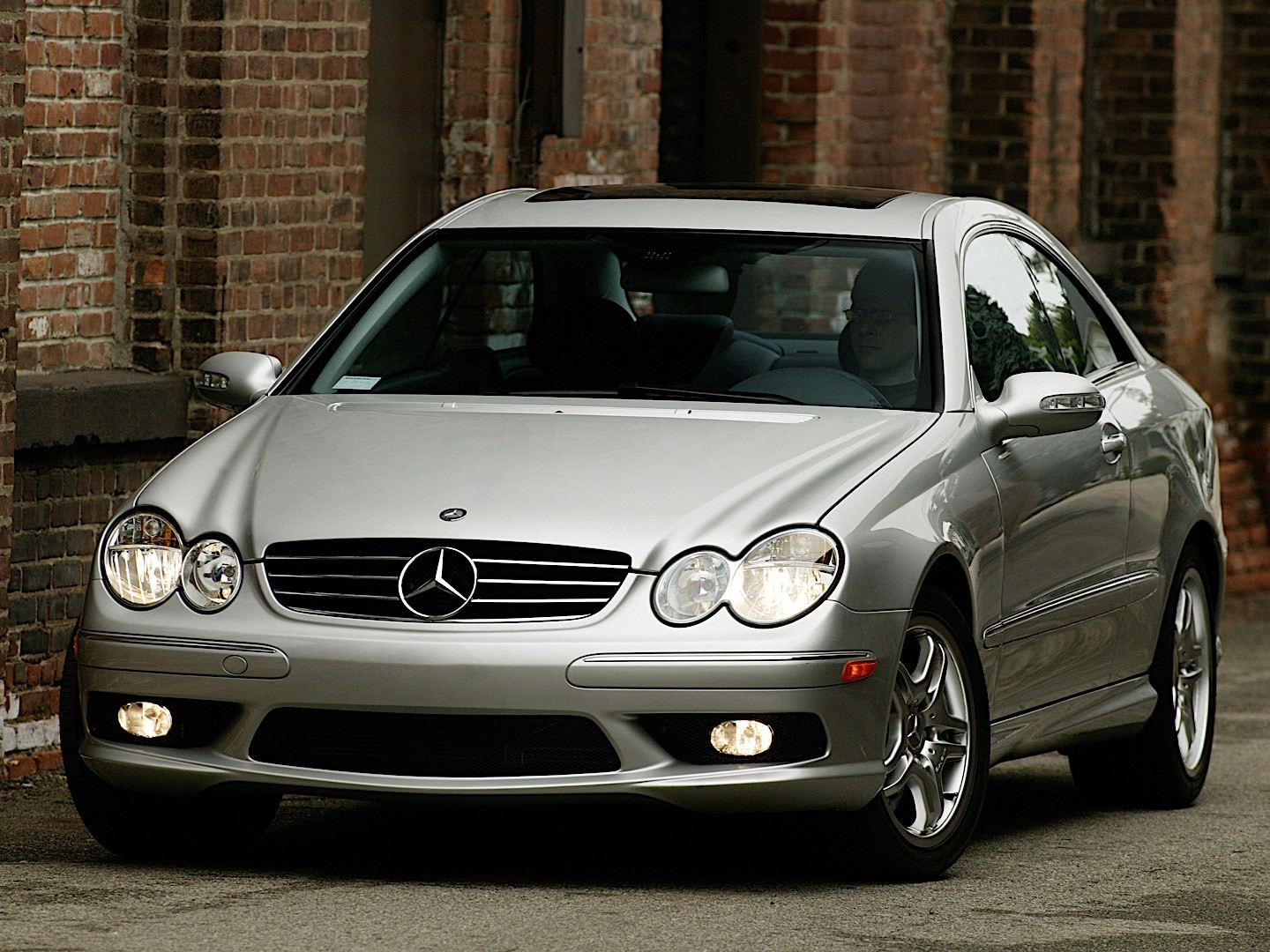 mercedes benz clk 55 amg c209 specs photos 2003. Black Bedroom Furniture Sets. Home Design Ideas