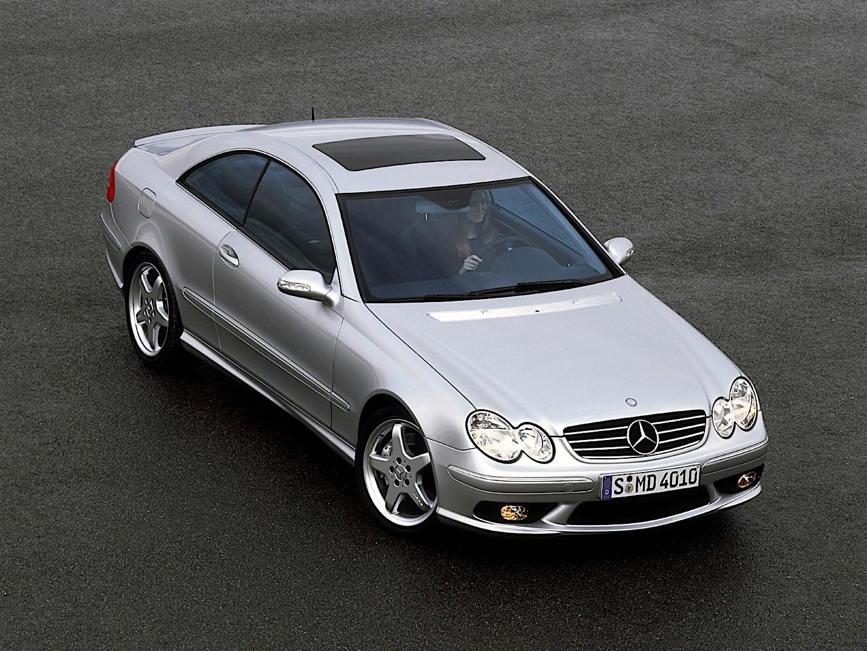 Mercedes benz clk 55 amg c209 specs 2003 2004 2005 for Mercedes benz clk 2006