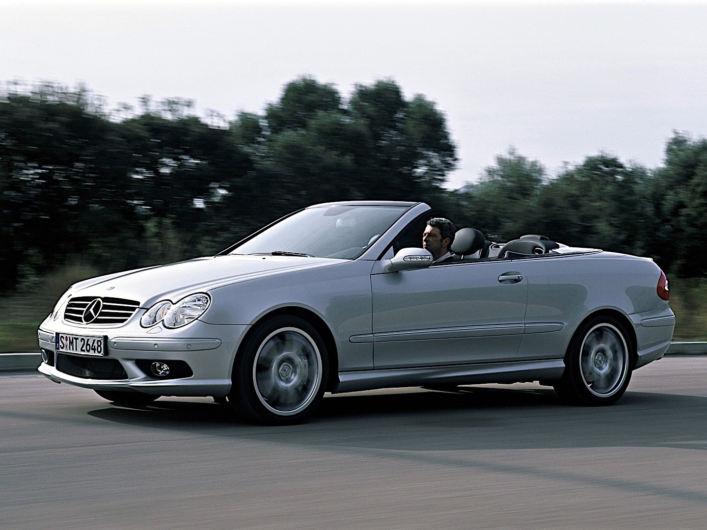 mercedes benz clk 55 amg cabrio a209 specs photos. Black Bedroom Furniture Sets. Home Design Ideas