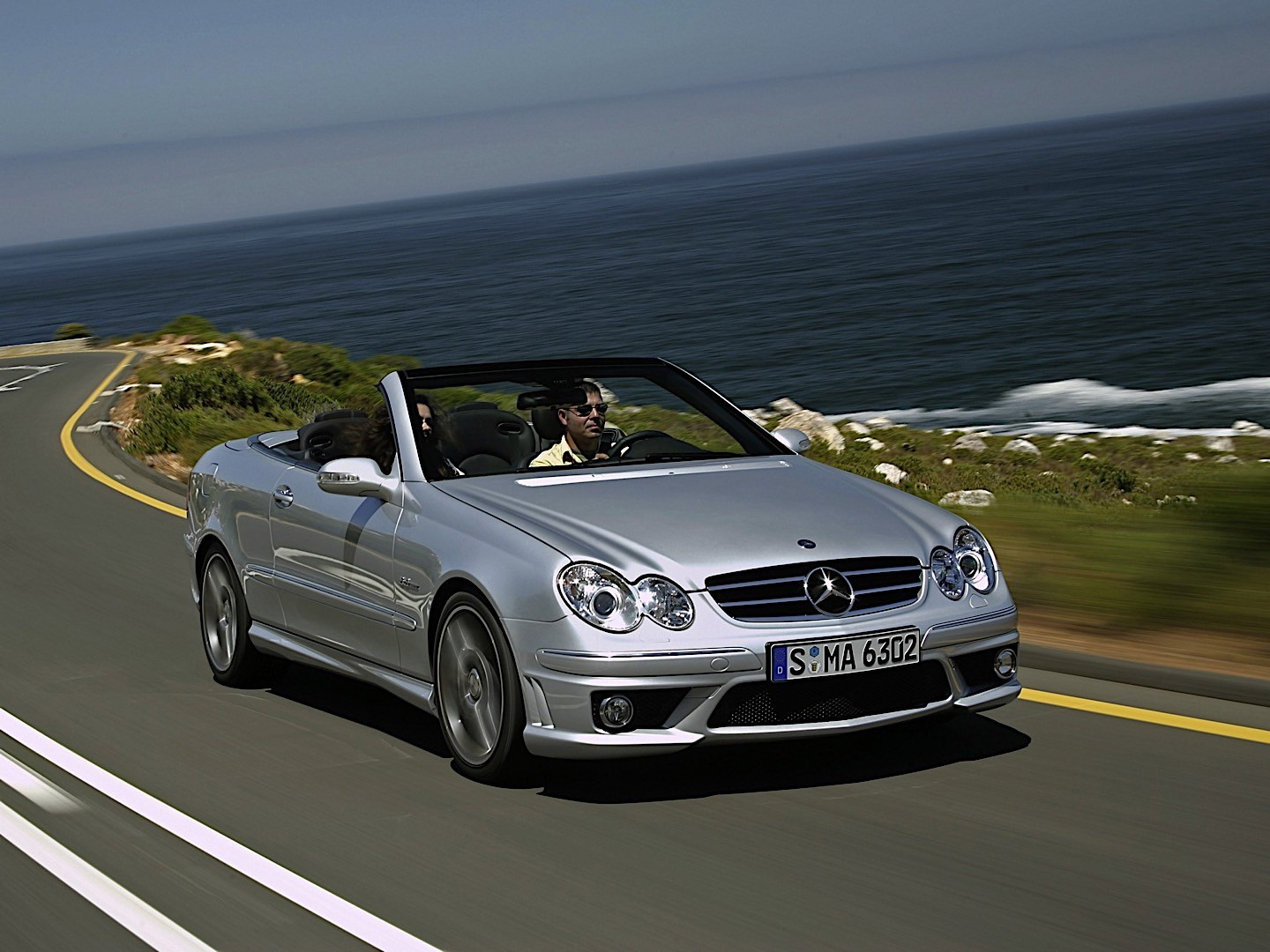 mercedes benz clk 63 amg cabrio a209 specs photos 2006 2007 2008 2009 autoevolution. Black Bedroom Furniture Sets. Home Design Ideas
