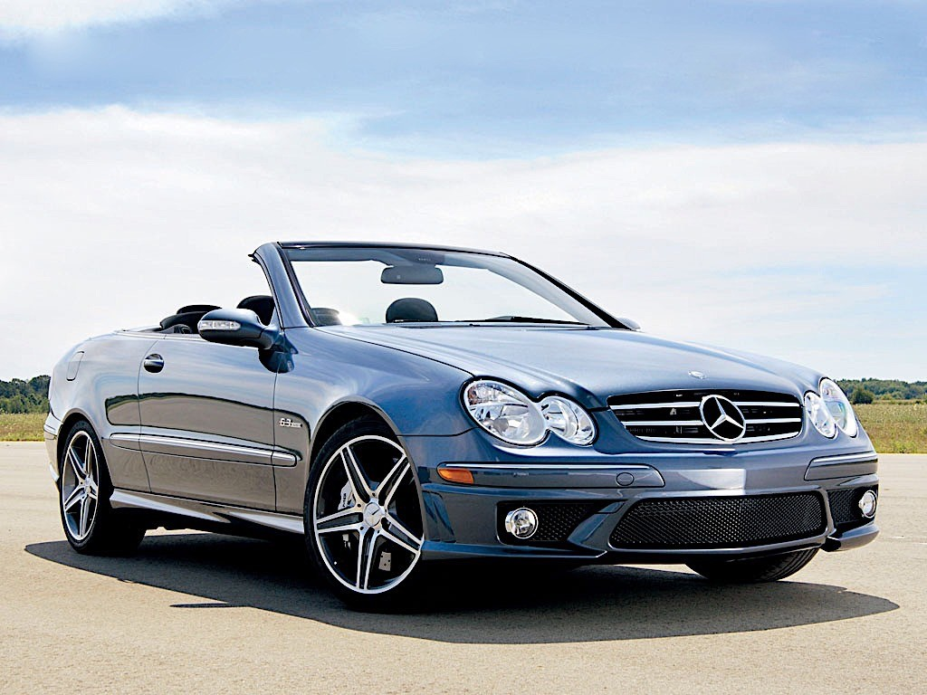 mercedes benz clk 63 amg cabrio a209 specs 2006 2007. Black Bedroom Furniture Sets. Home Design Ideas