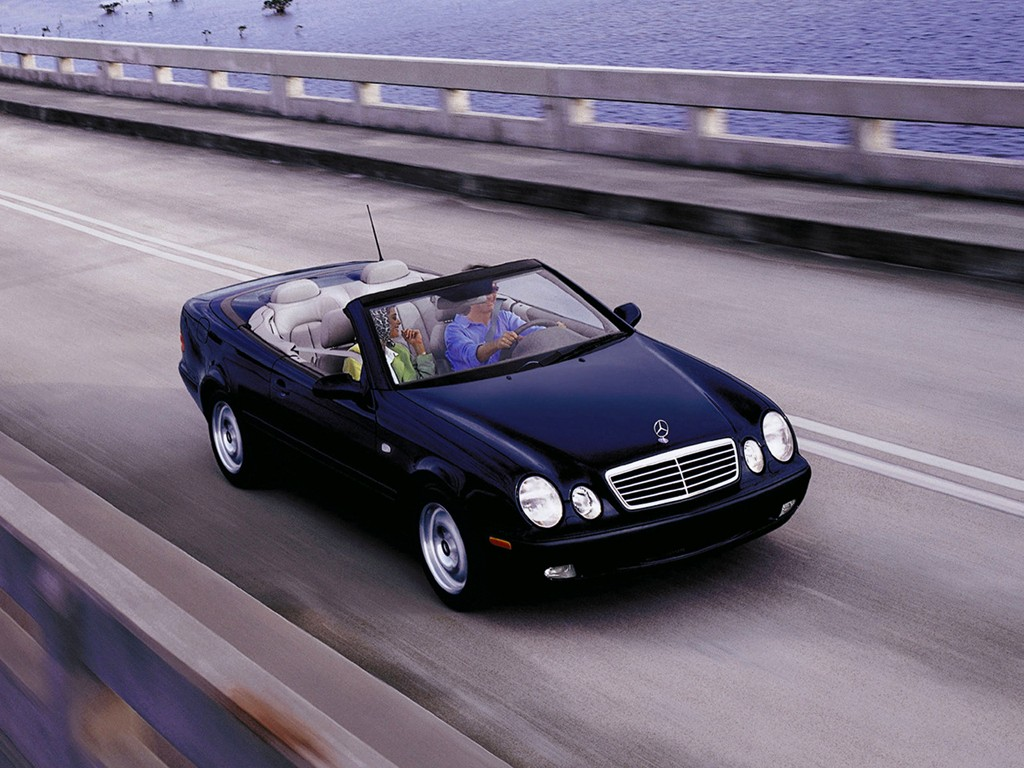 mercedes benz clk cabrio a208 specs photos 1998 1999 autoevolution. Black Bedroom Furniture Sets. Home Design Ideas
