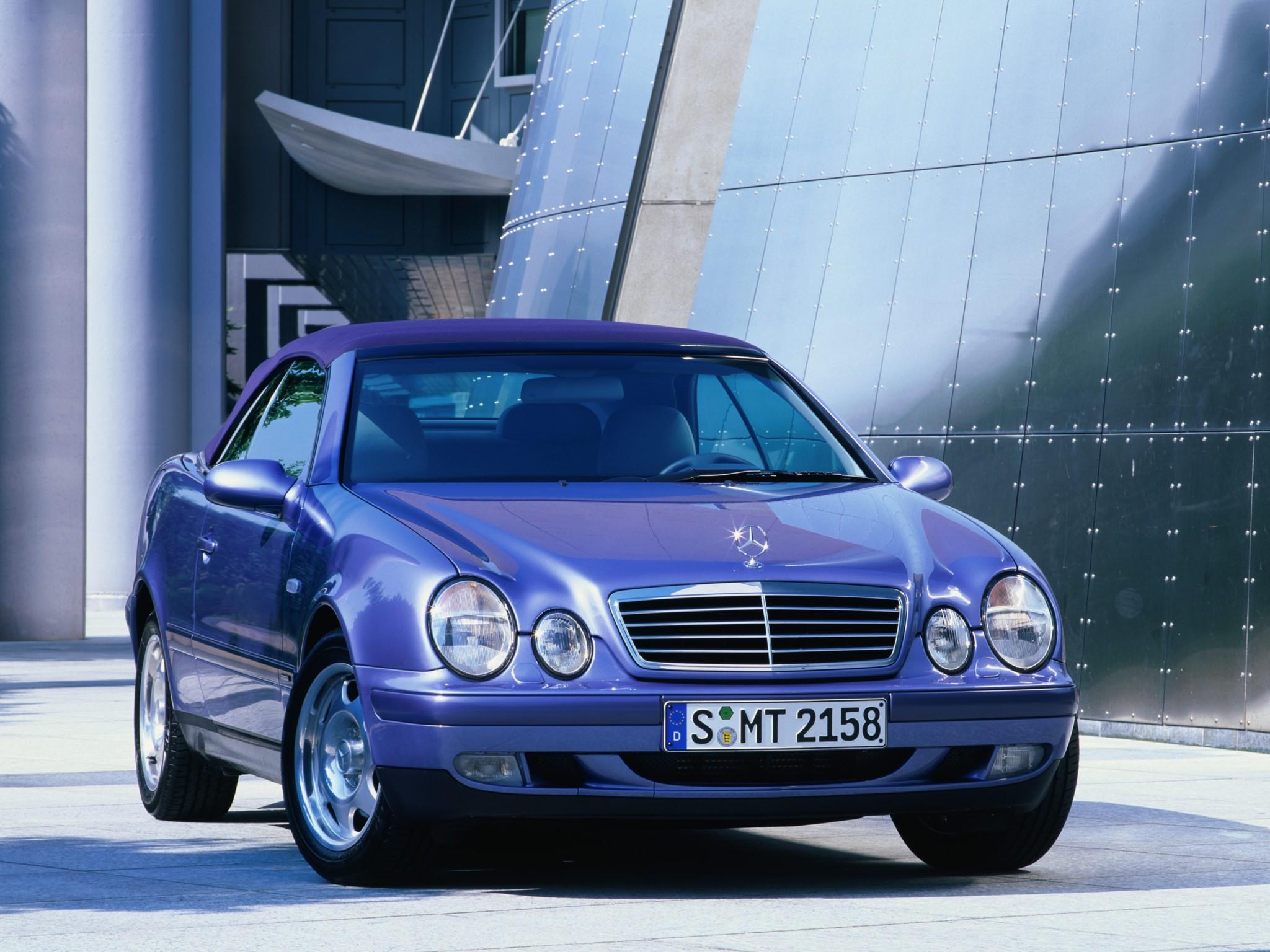 mercedes benz clk cabrio  a208  specs  u0026 photos - 1998  1999