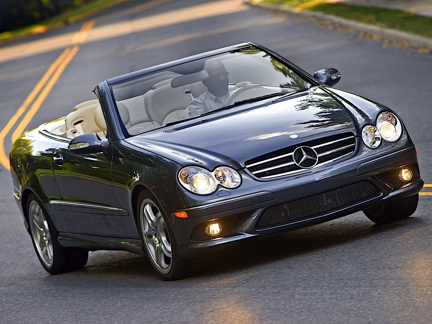 mercedes benz clk cabrio a209 specs photos 2005. Black Bedroom Furniture Sets. Home Design Ideas