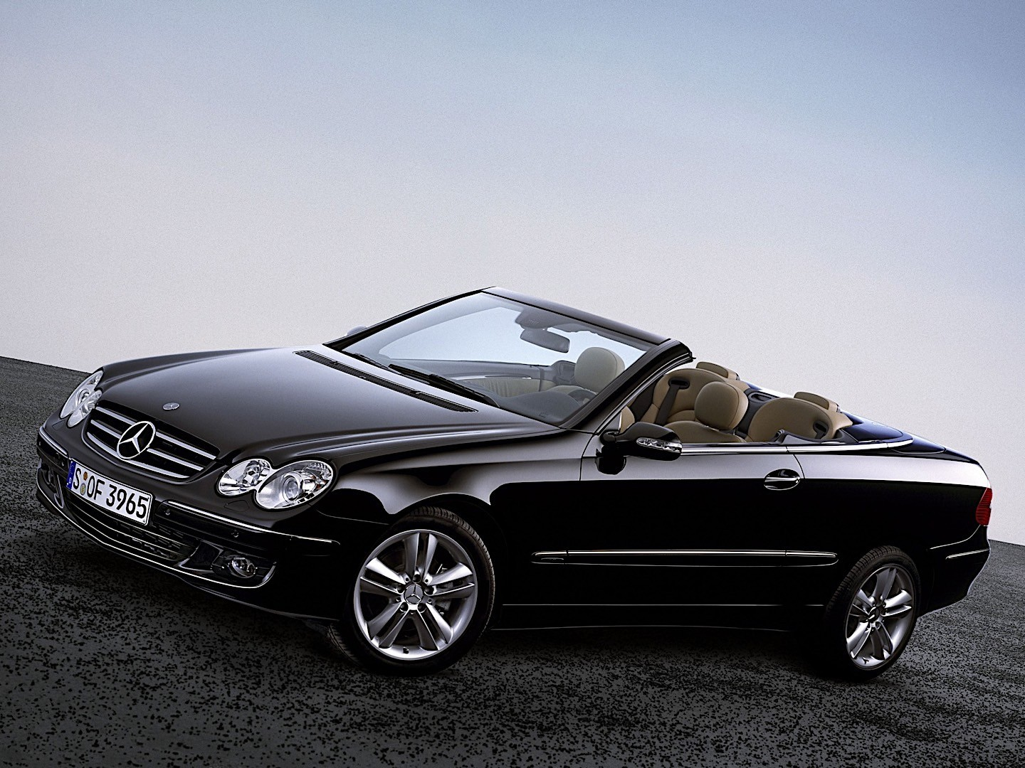 mercedes benz clk cabrio a209 specs 2005 2006 2007. Black Bedroom Furniture Sets. Home Design Ideas