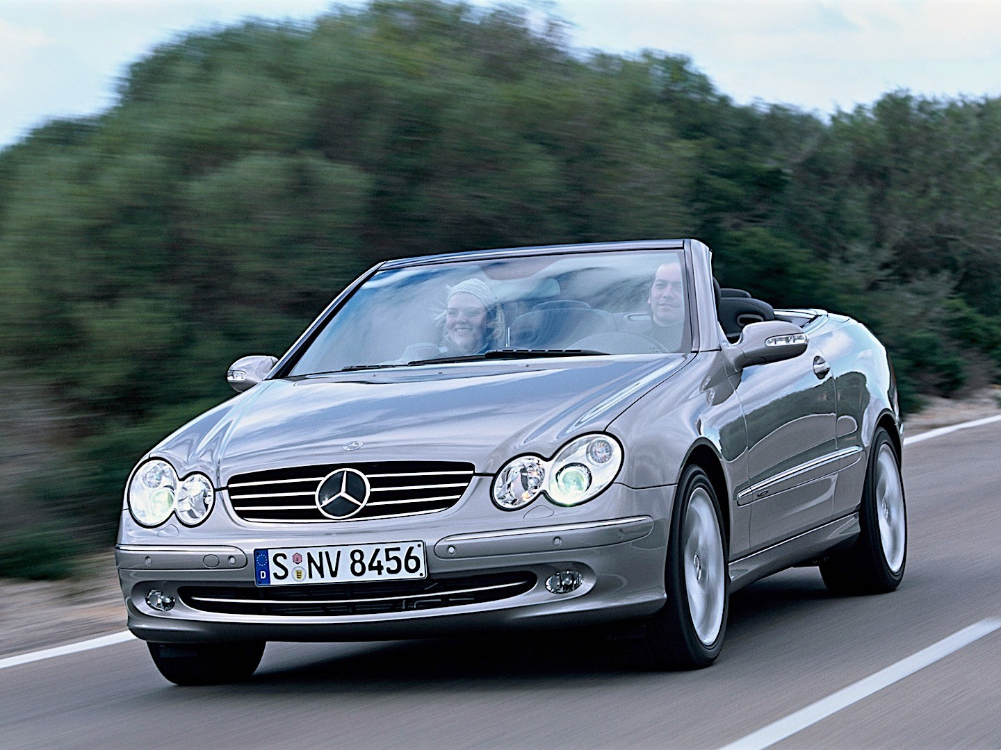 mercedes benz clk cabrio a209 specs photos 2003. Black Bedroom Furniture Sets. Home Design Ideas