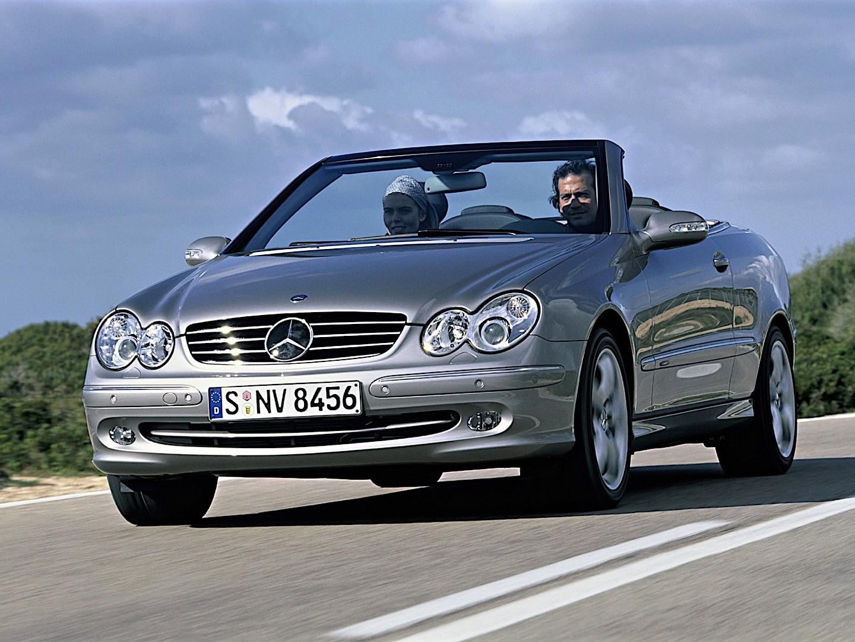 mercedes benz clk cabrio a209 specs photos 2003 2004 2005 autoevolution. Black Bedroom Furniture Sets. Home Design Ideas