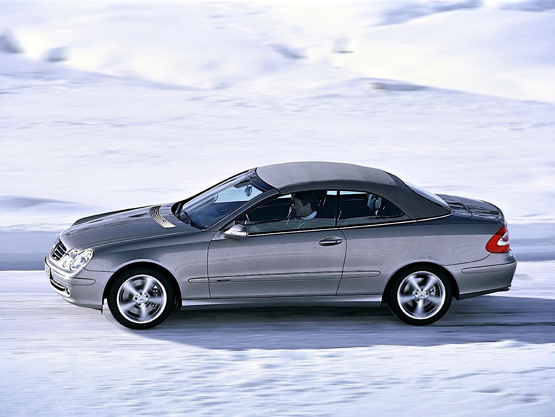 Mercedes Benz Clk Cabrio A209 Specs 2003 2004 2005