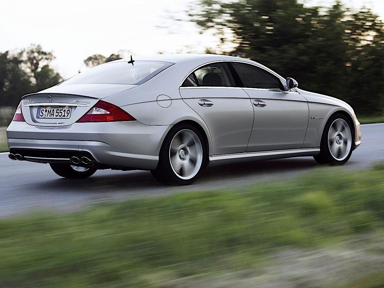Mercedes benz cls 55 amg c219 specs 2004 2005 2006 for Mercedes benz cls55