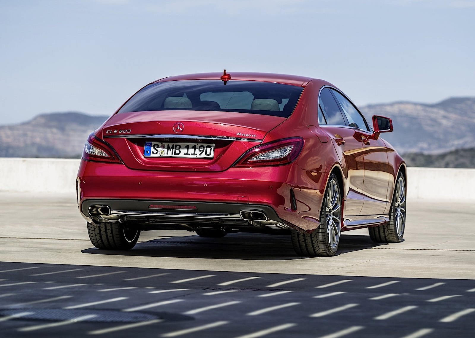 for 2015 the mercedes benz cls coupe and cls shooting brake got a new. Cars Review. Best American Auto & Cars Review
