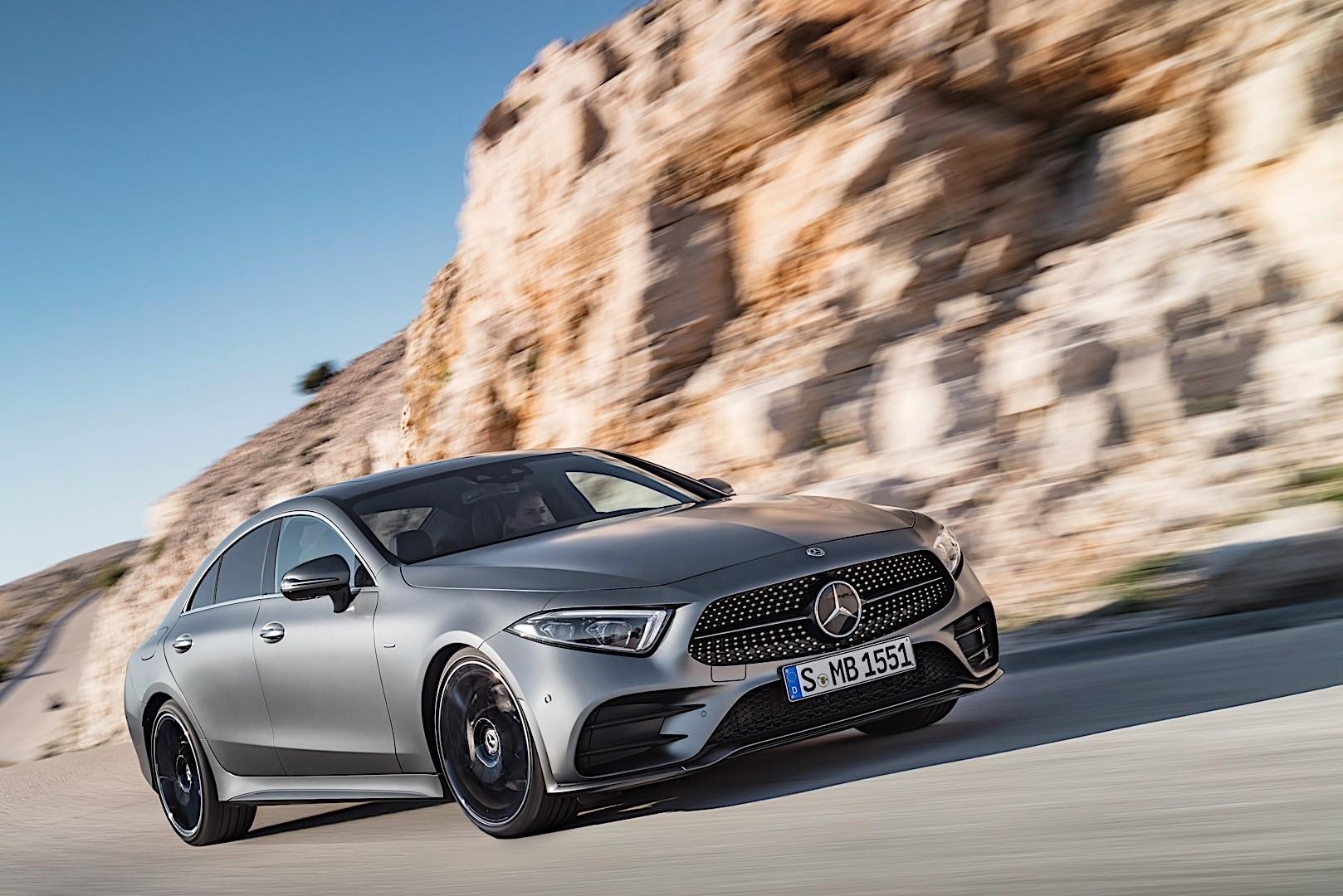 Mercedes Benz AMG Original Oeil Noir c257 CLS coupé LHD à partir de 03//2018 NEUF