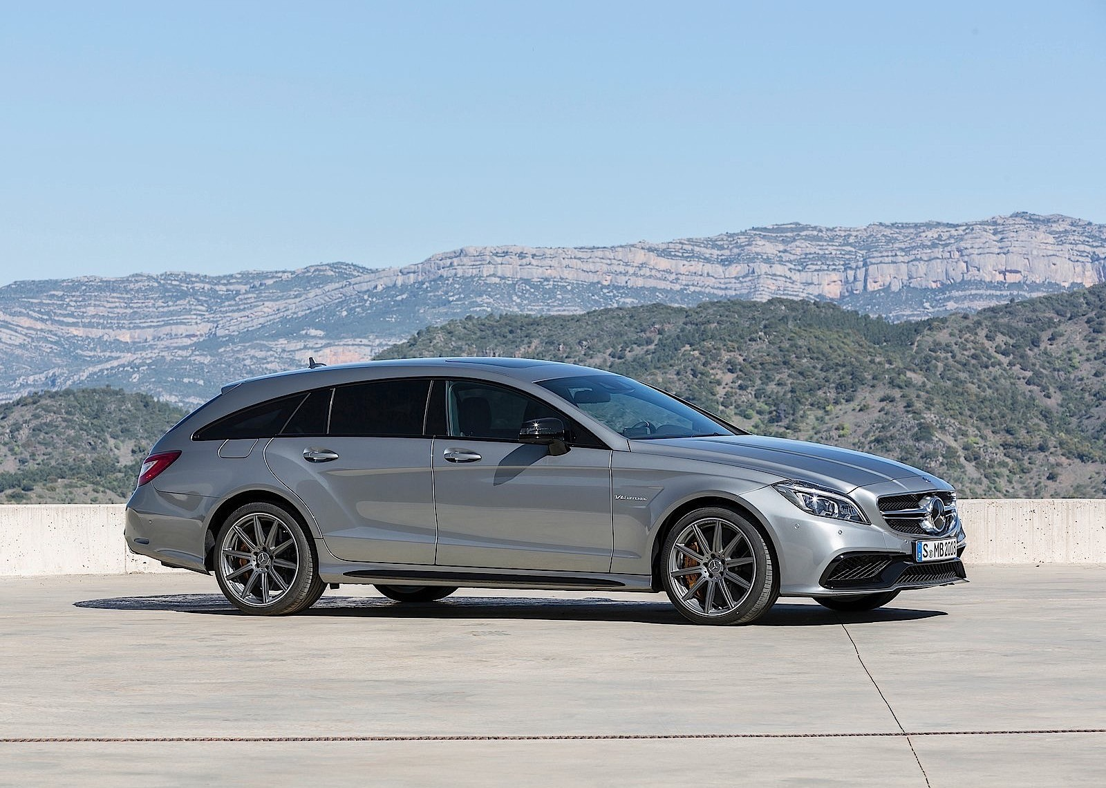 Mercedes Benz Cls Shooting Brake Amg 2014 2015 2016