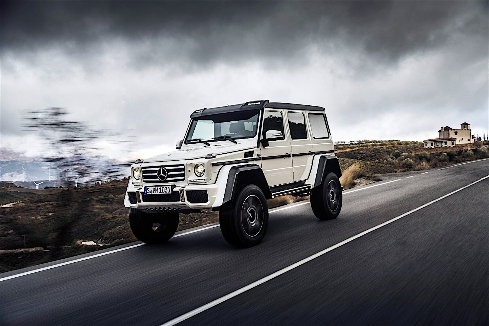 mercedes benz g class 4x4 squared w463 specs photos. Black Bedroom Furniture Sets. Home Design Ideas