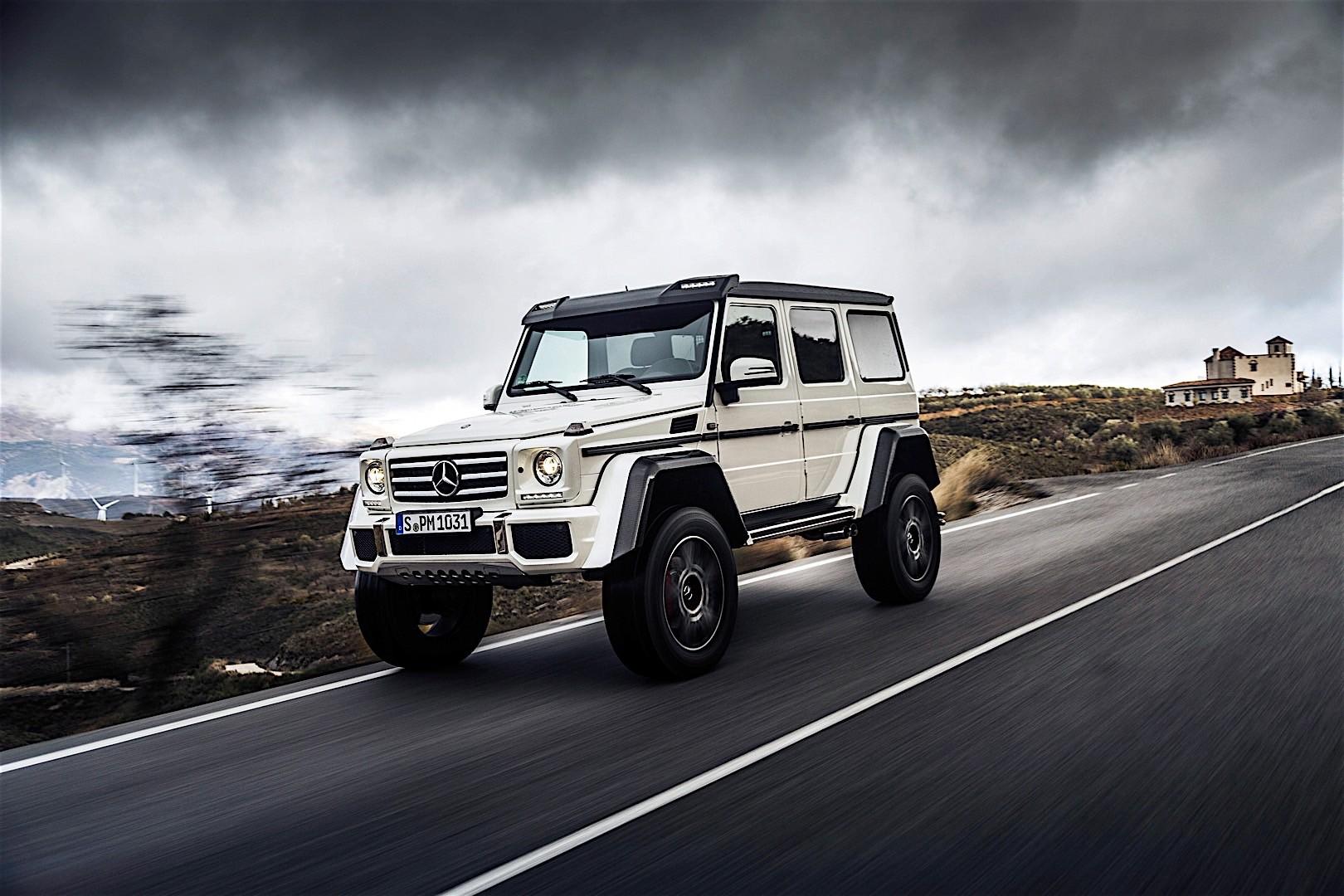 Mercedes benz g class 4x4 squared w463 2015 2016 for Mercedes benz 4x4 g class