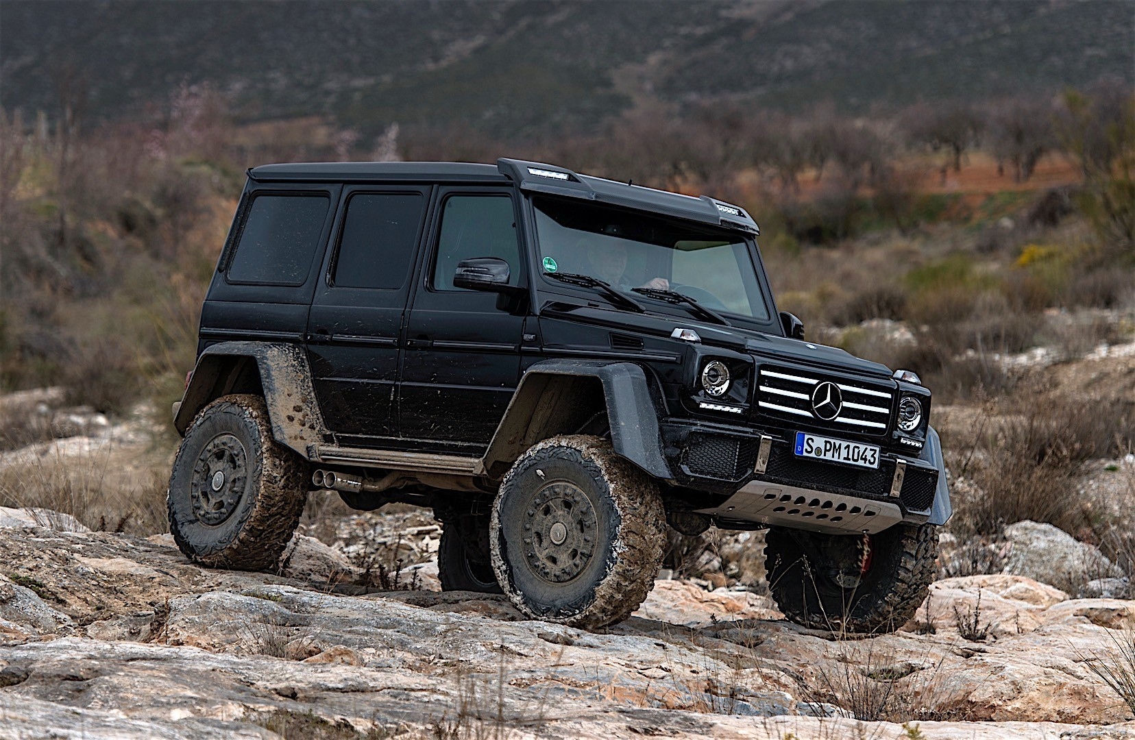 Mercedes Benz G Class 4x4 Squared W463 Specs Photos 2015 2016