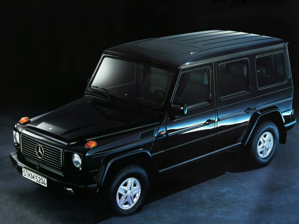 mercedes benz g klasse w463 specs photos 1989 1990. Black Bedroom Furniture Sets. Home Design Ideas