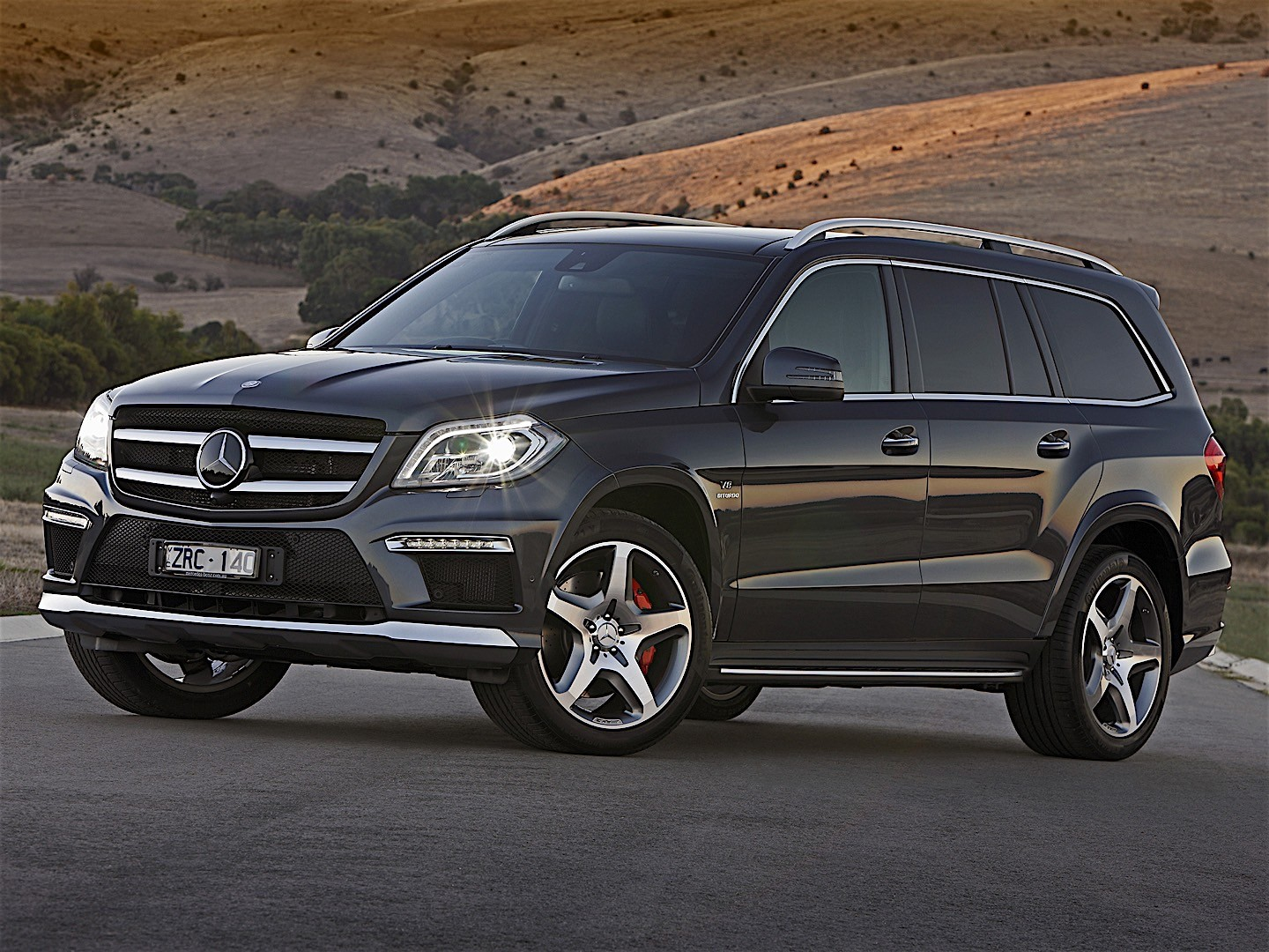 Mercedes benz gl 63 amg x166 2012 2013 2014 2015 for Gl mercedes benz