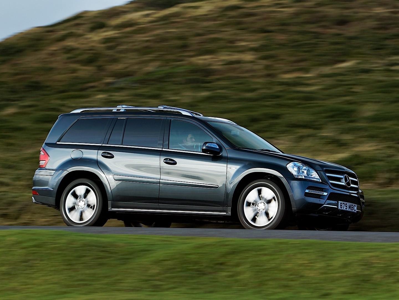 Mercedes benz gl klasse x164 specs 2009 2010 2011 for Mercedes benz gl550