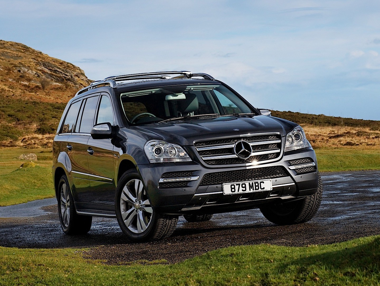 Mercedes benz gl klasse x164 2009 2010 2011 2012 for 2012 mercedes benz gl450