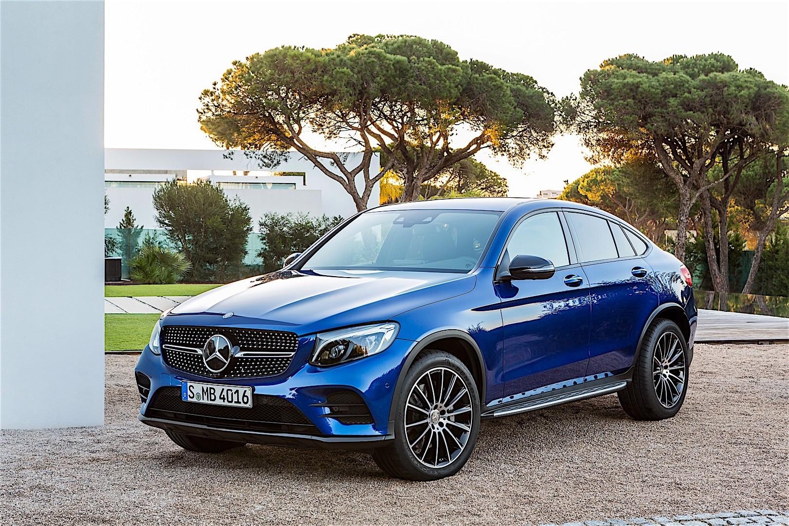 Mercedes Benz Glc Coupe C253 2016 2019