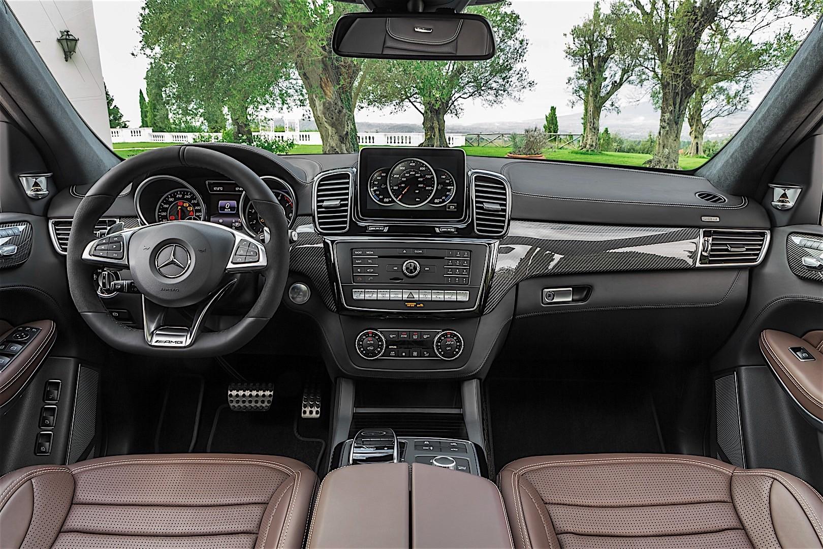 Mercedes Amg Gls 63 X166 2016 Present