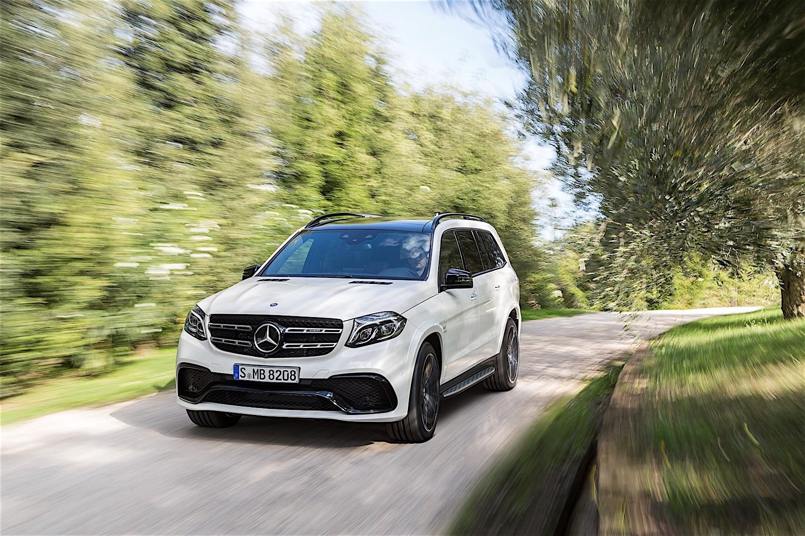 Mercedes benz gls 63 amg x166 2016 autoevolution for Mercedes benz gls suv
