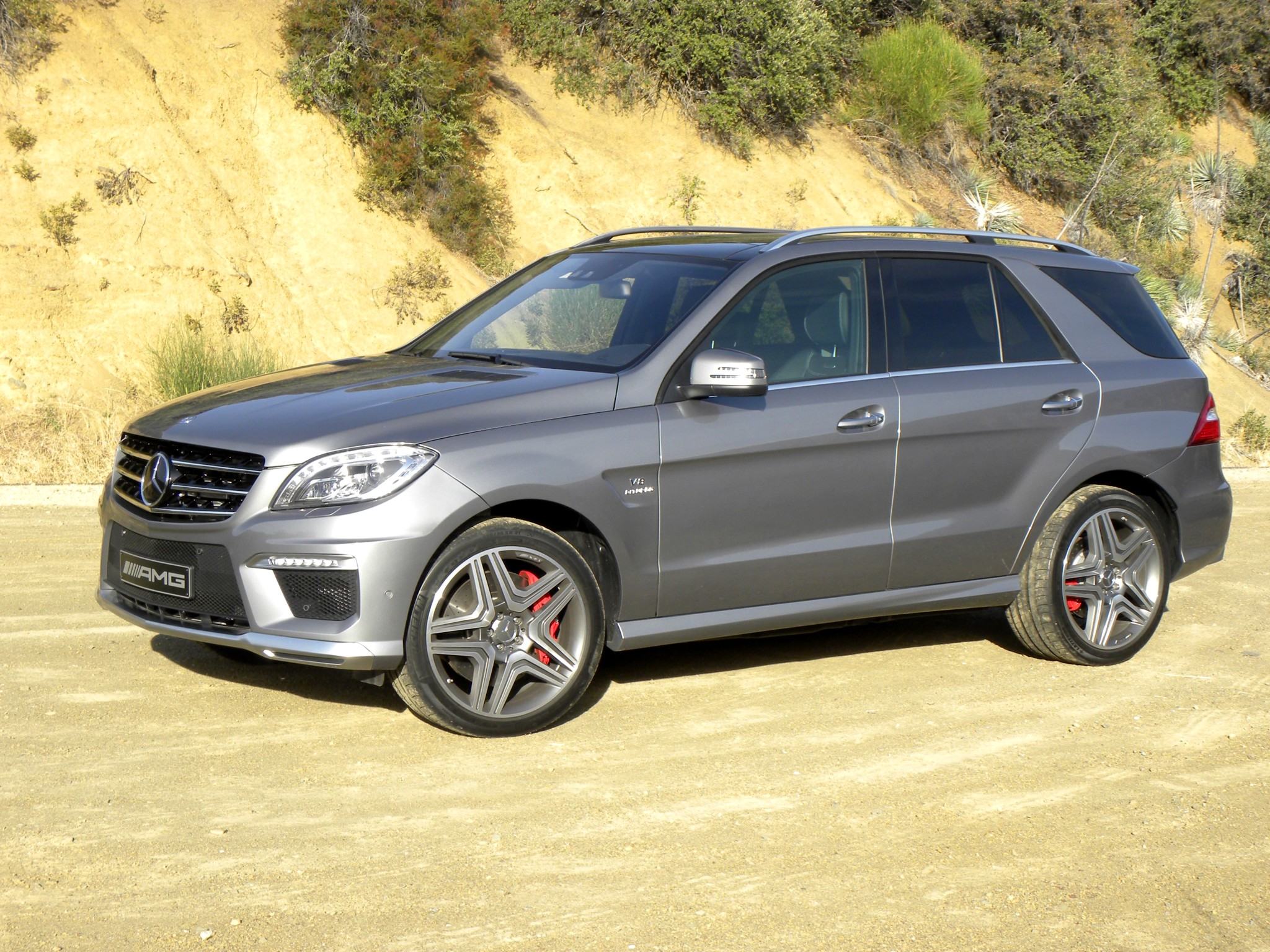Mercedes Benz Ml 63 Amg W166 2011 2012 2013 2014