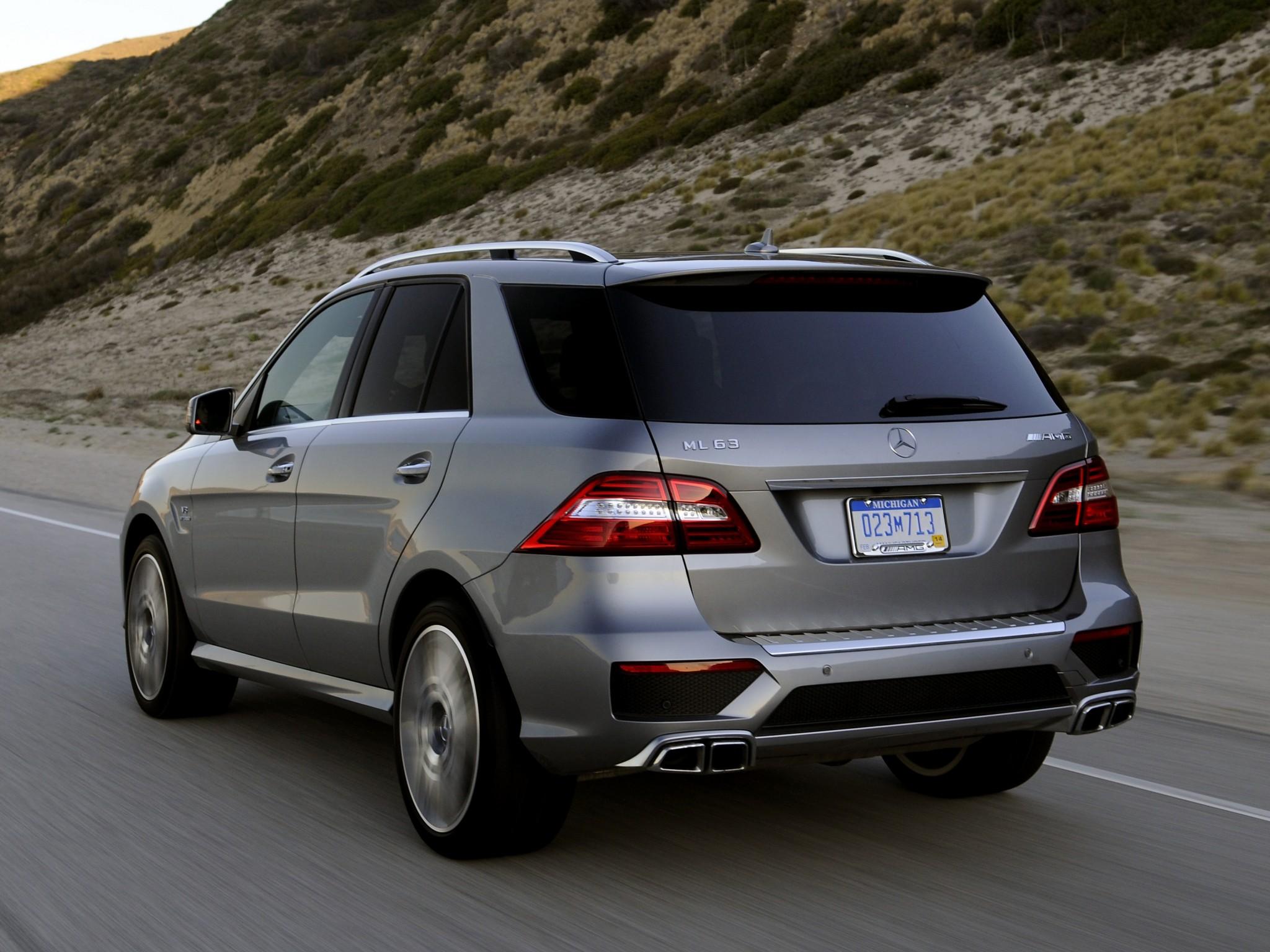 Mercedes benz ml 63 amg w166 specs 2011 2012 2013 2014 2015 autoevolution