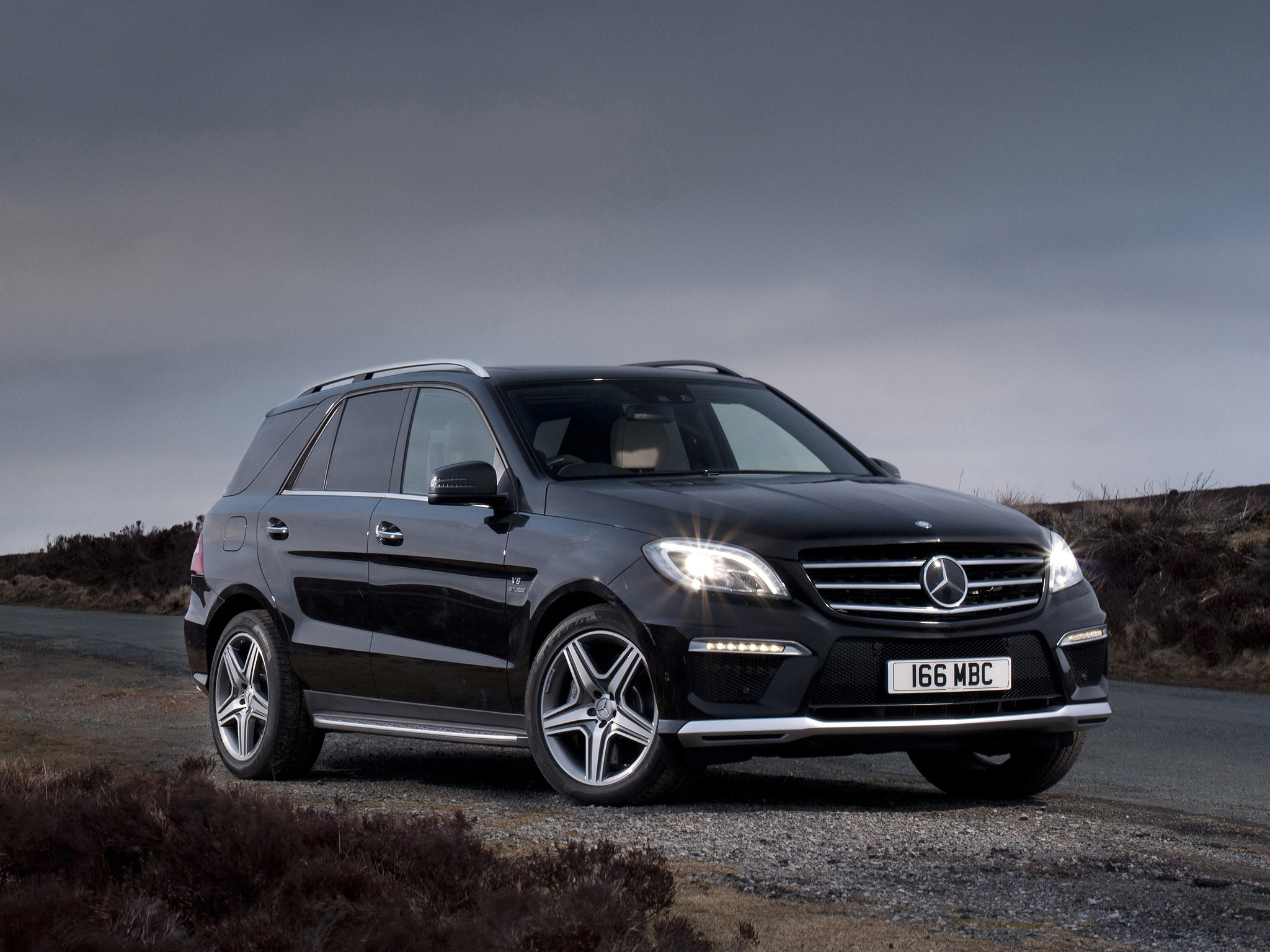 Mercedes Benz Ml 63 Amg W166 2011 2012 2013 2014 2015 Autoevolution