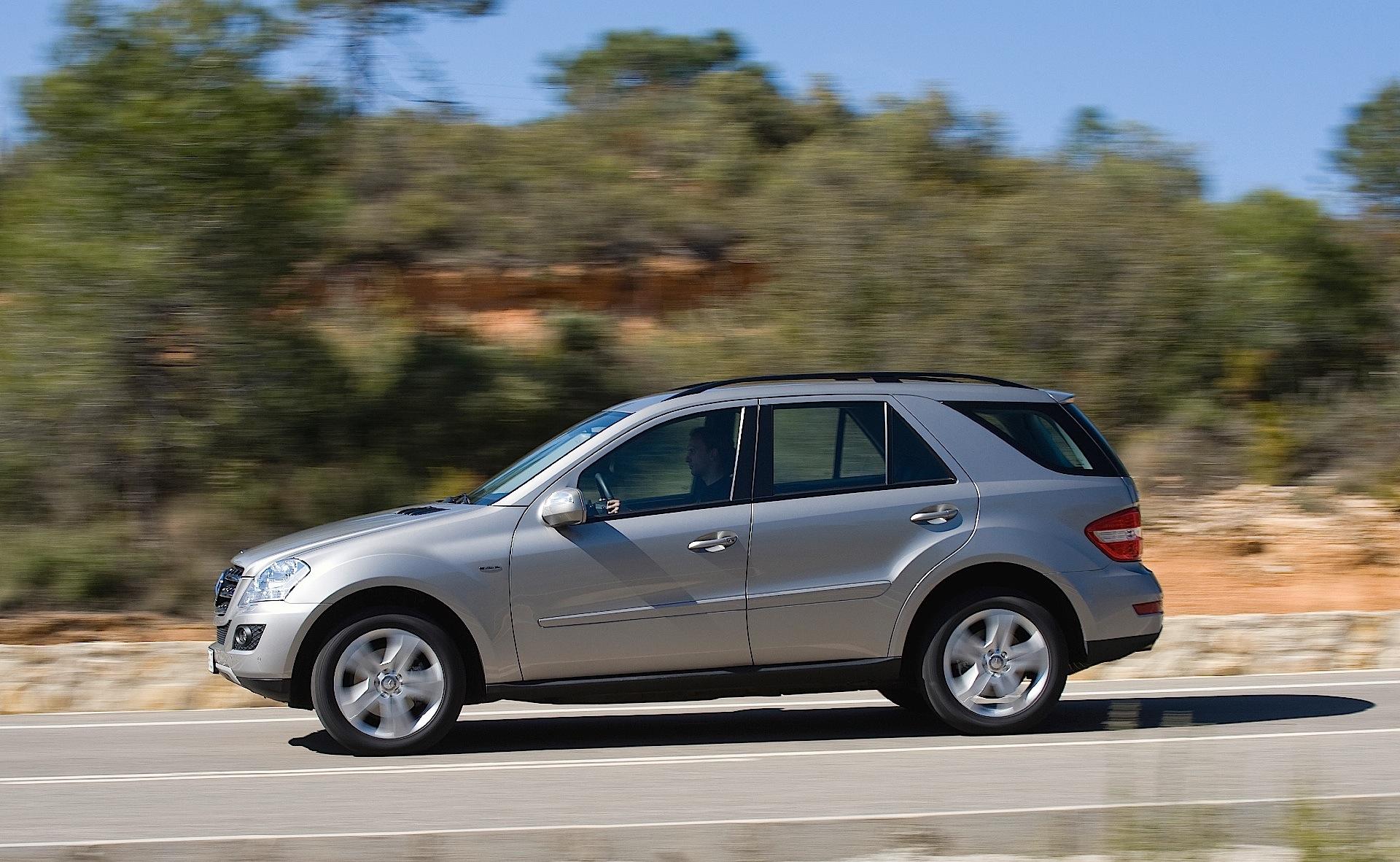 Mercedes benz ml klasse w164 specs 2008 2009 2010 for Mercedes benz w164