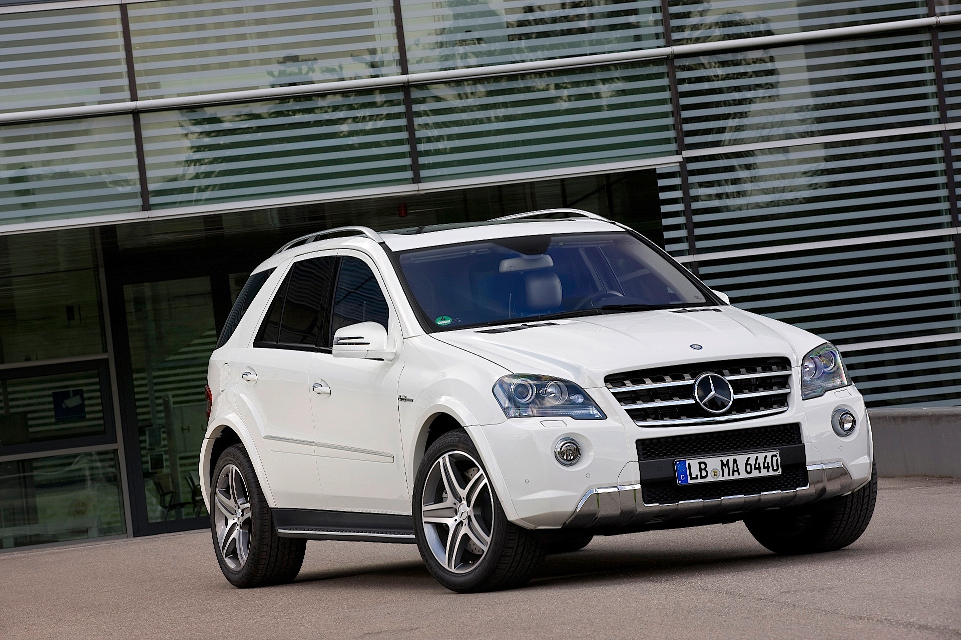 Mercedes Benz Ml Klasse W164 2008 on 350 cdi bluetec