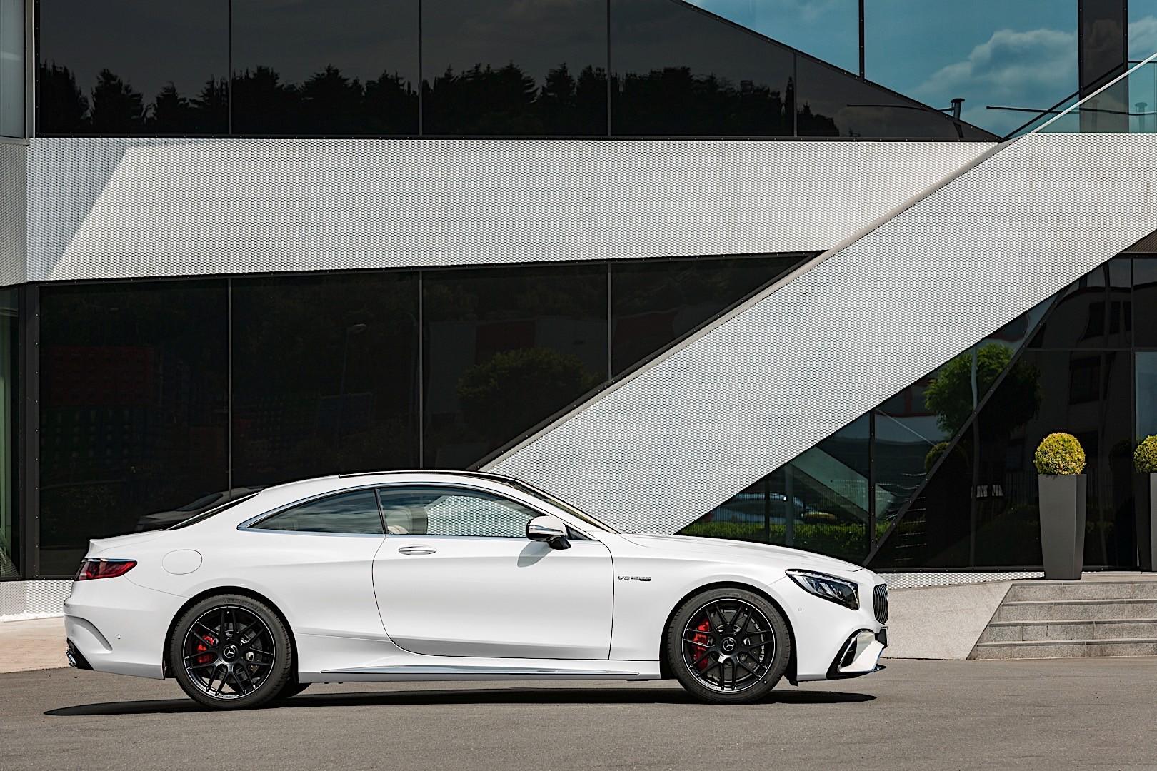 Mercedes Amg S 63 Coupe C217 2017 Present