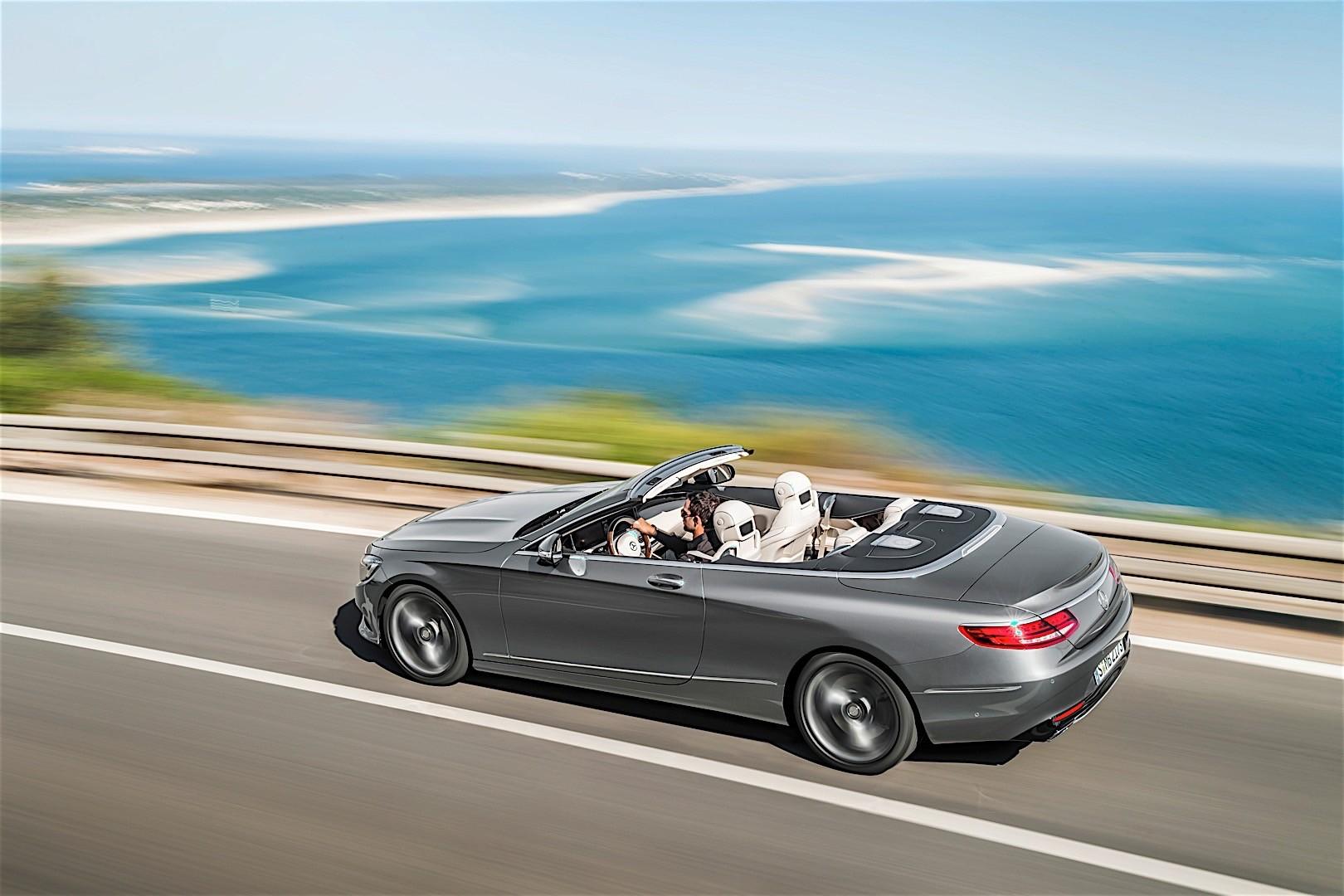 mercedes benz s class convertible a217 2016 autoevolution. Black Bedroom Furniture Sets. Home Design Ideas