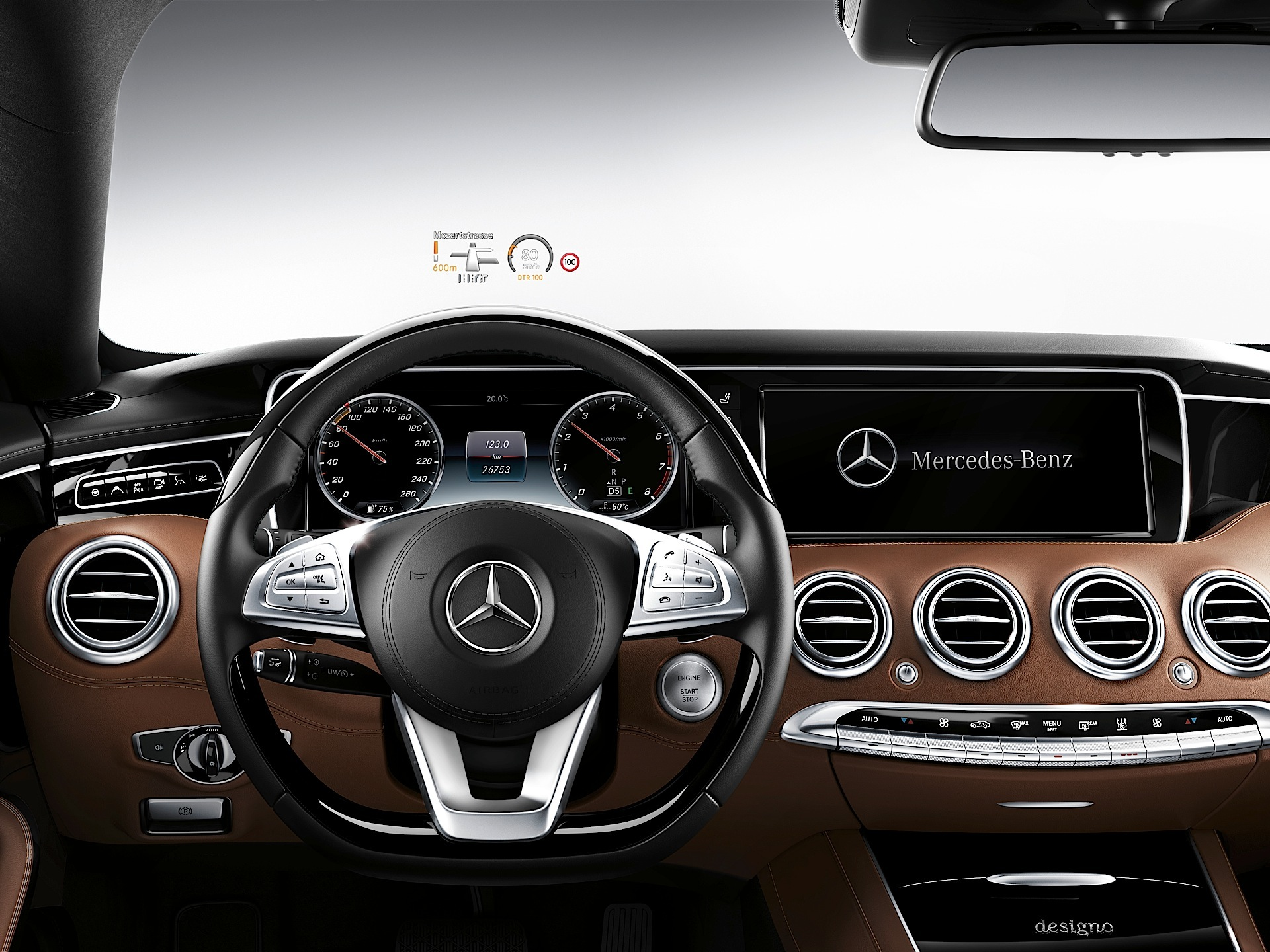 Mercedes benz s class coupe c217 specs 2014 2015 for Mercedes benz heads up display