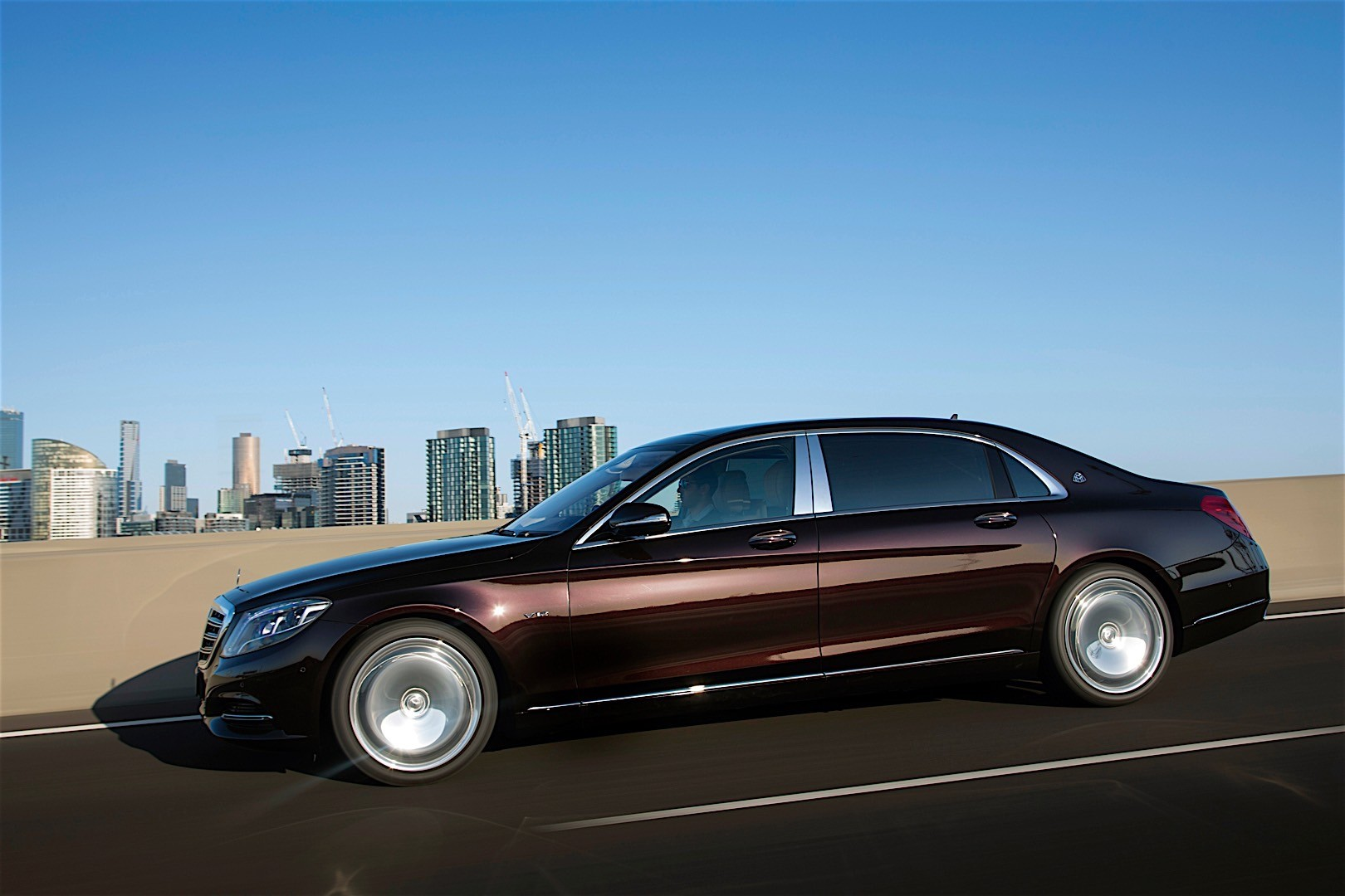 Mercedes benz s class maybach x222 2015 2016 for Maybach mercedes benz