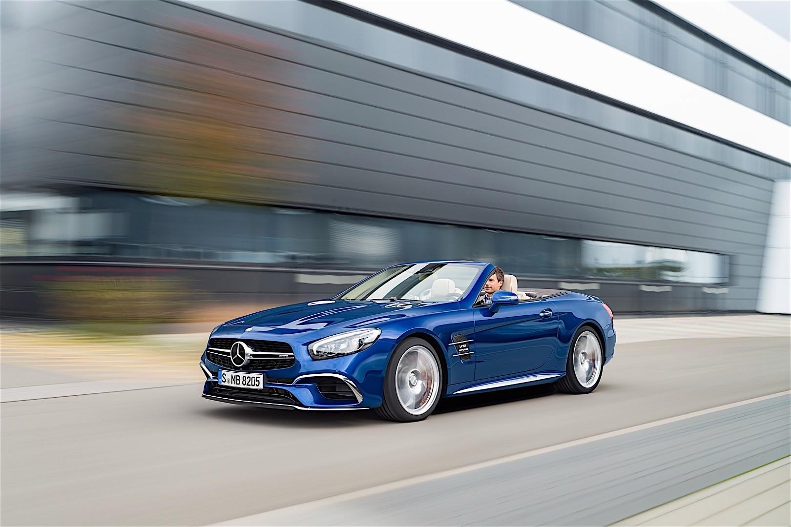 Mercedes Benz Sl 65 Amg R231 2016 Autoevolution