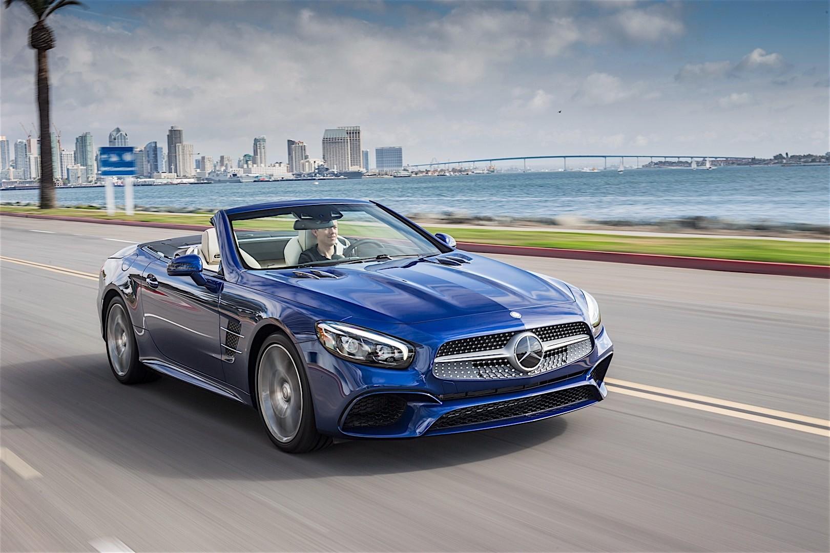 Mercedes benz sl class r231 2016 autoevolution for Mercedes benz sl class