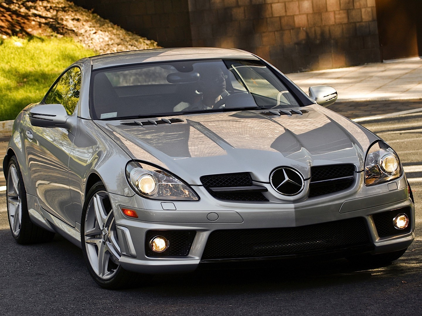 mercedes benz slk 55 amg r171 2008 2009 2010 2011 autoevolution. Black Bedroom Furniture Sets. Home Design Ideas