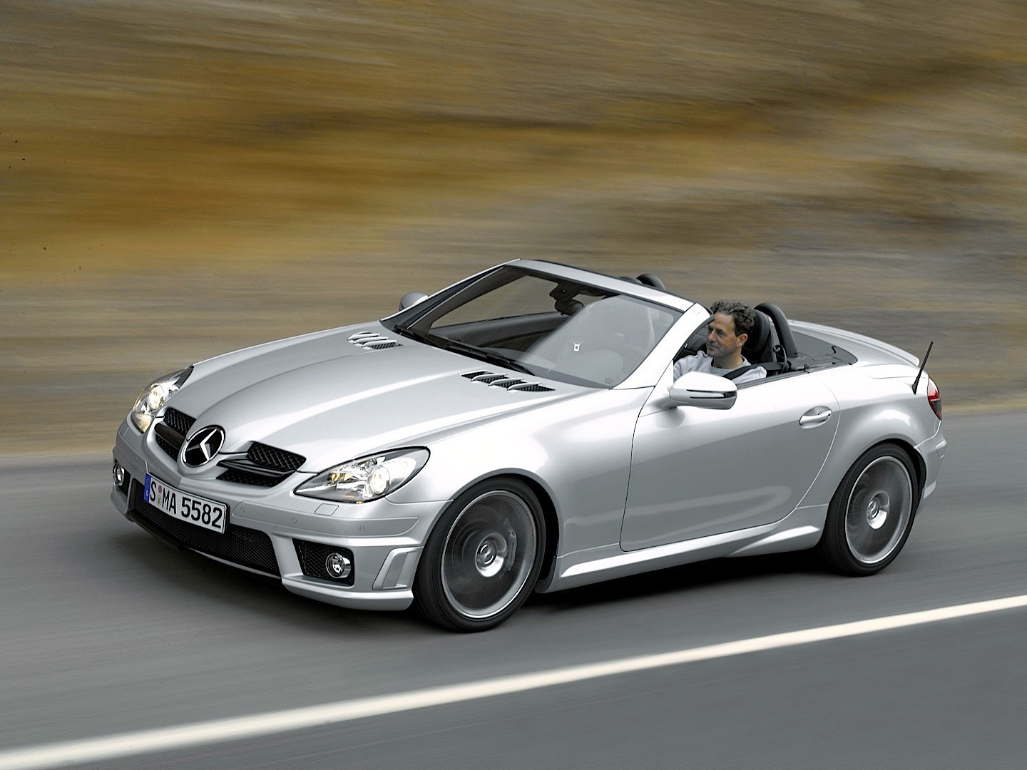 Mercedes Benz Slk  Amg Motors