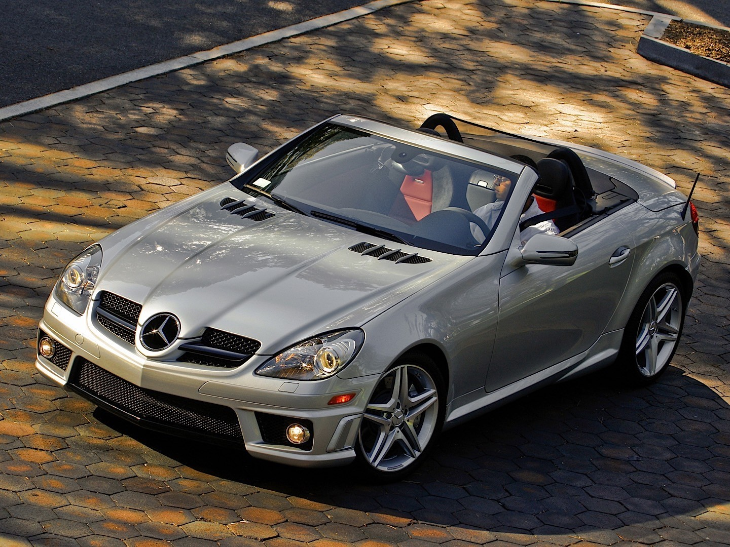 mercedes benz slk 55 amg r171 specs photos 2008 2009 2010 2011 autoevolution. Black Bedroom Furniture Sets. Home Design Ideas