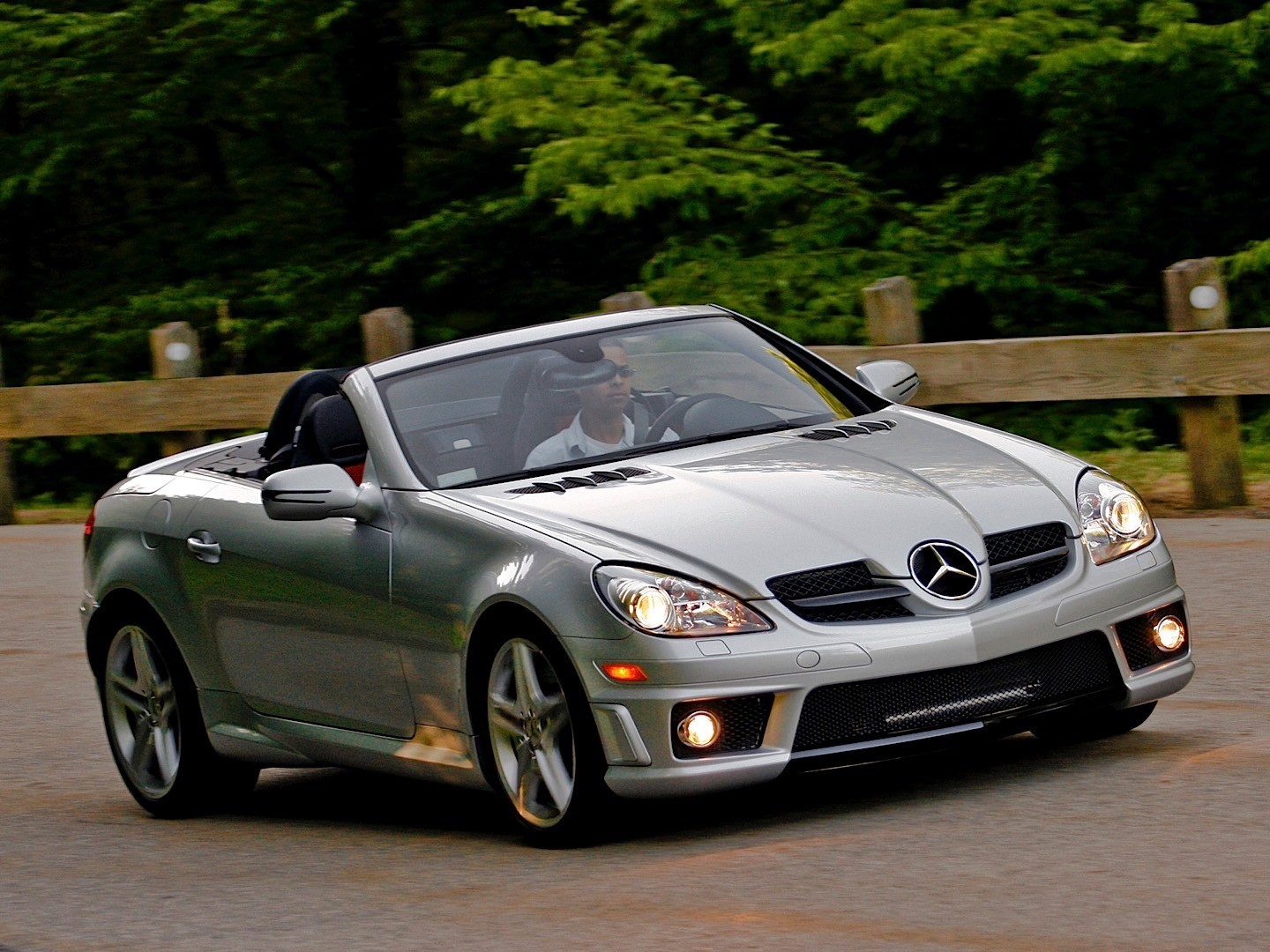 MERCEDES BENZ SLK 55 AMG (R171) specs & photos - 2008 ...