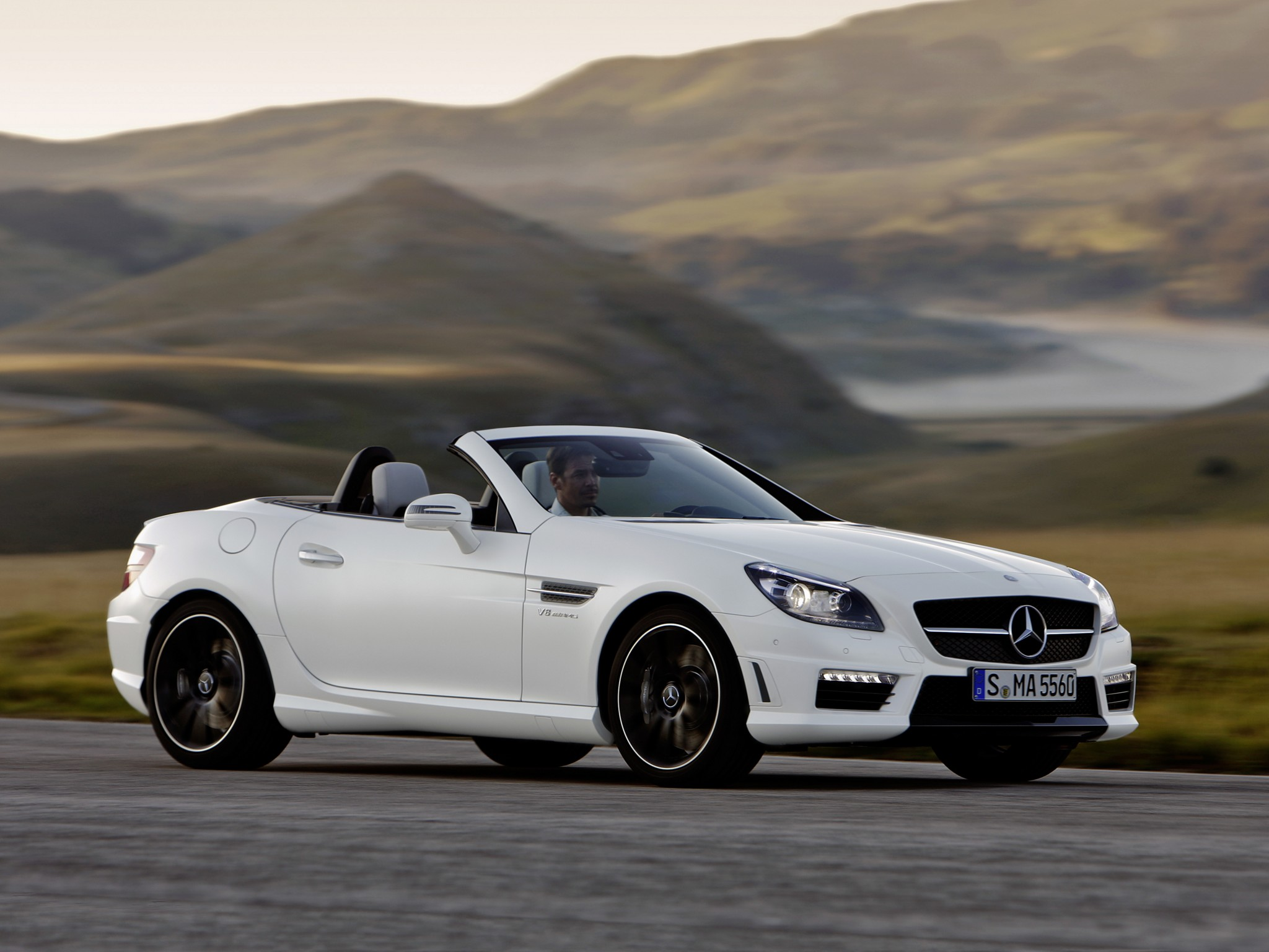 mercedes benz slk 55 amg r172 2012 2013 2014 2015 2016 autoevolution. Black Bedroom Furniture Sets. Home Design Ideas