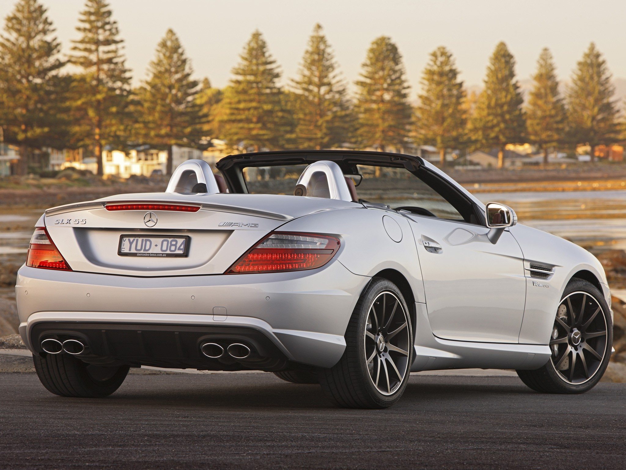 mercedes benz slk 55 amg r172 specs photos 2012 2013 2014 2015 2016 autoevolution. Black Bedroom Furniture Sets. Home Design Ideas