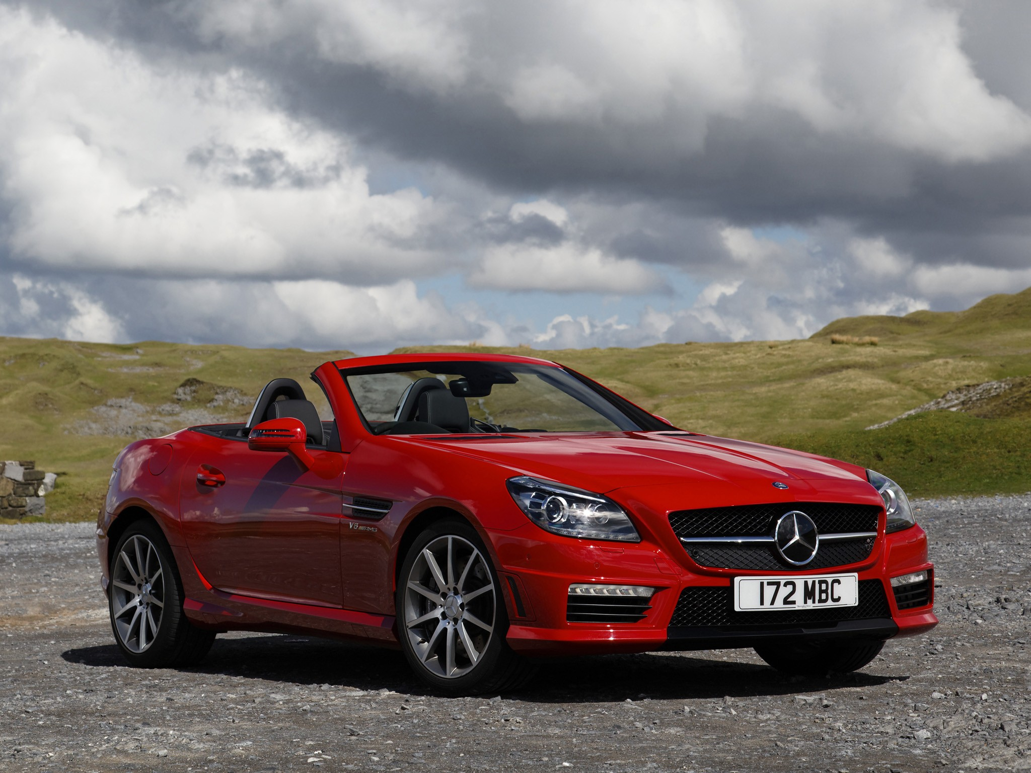 mercedes benz slk 55 amg r172 specs photos 2012. Black Bedroom Furniture Sets. Home Design Ideas