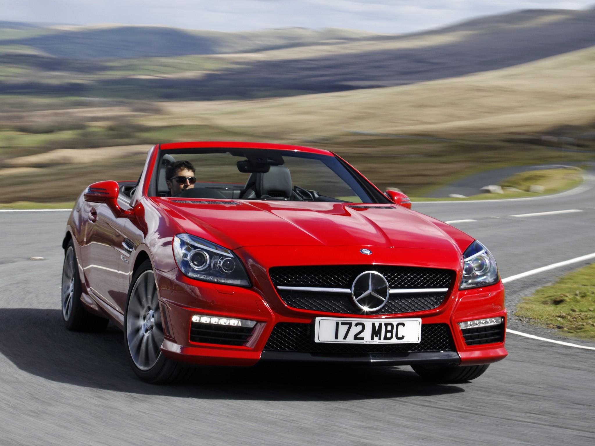 Mercedes Benz Slk 55 Amg R172 Specs Amp Photos 2012