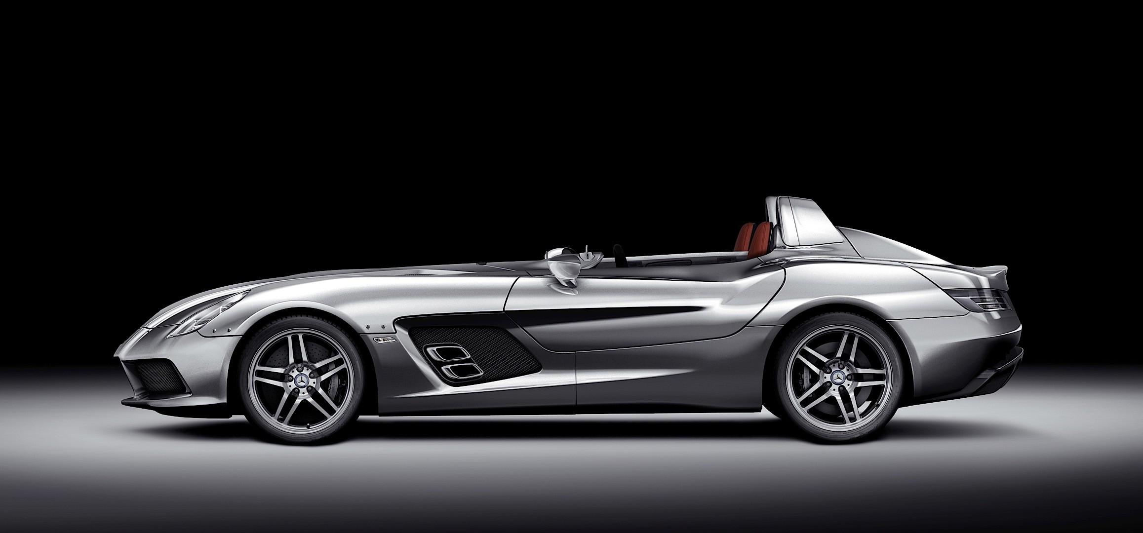 Mercedes benz slr stirling moss 2009 autoevolution for Mercedes benz mclaren slr