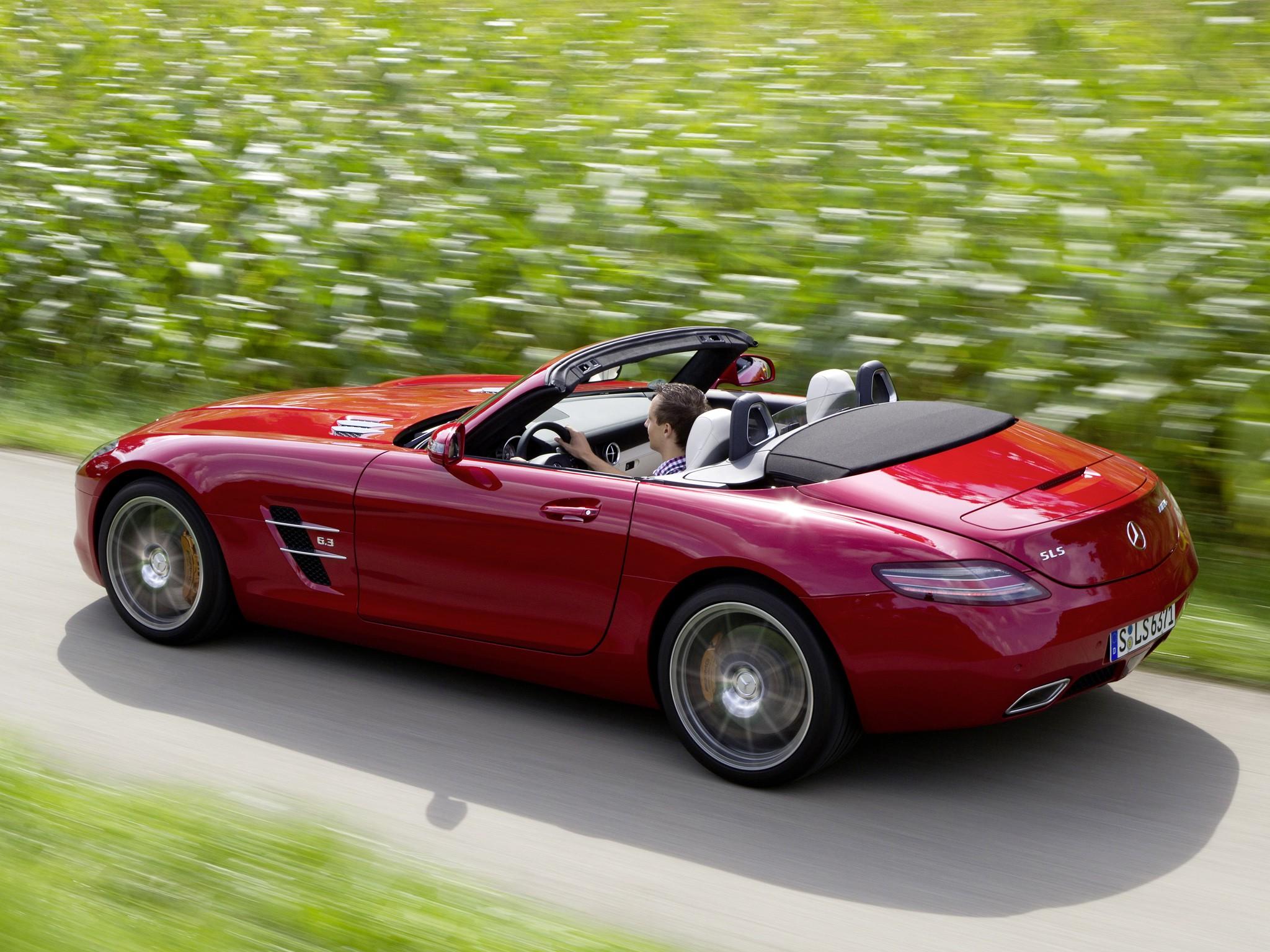 Mercedes benz sls amg roadster c197 specs 2011 2012 for Mercedes benz roadster amg